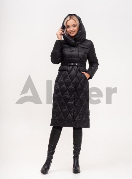 Пальто зимове з поясом