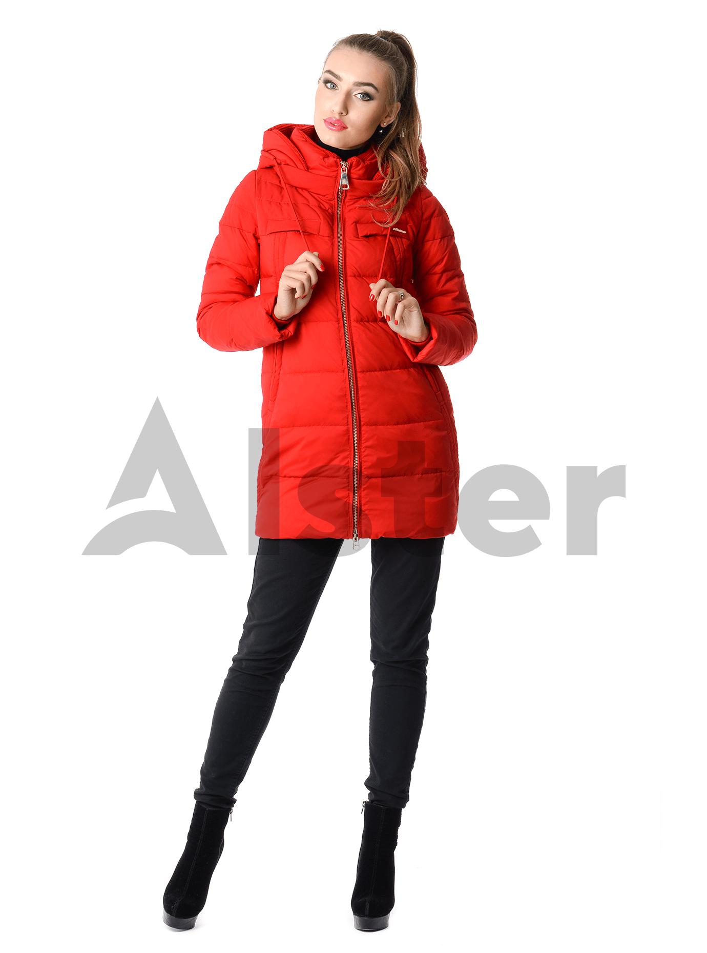 Куртка женская зимняя с капюшоном Чёрный S (02-CD18077): фото - Alster.ua