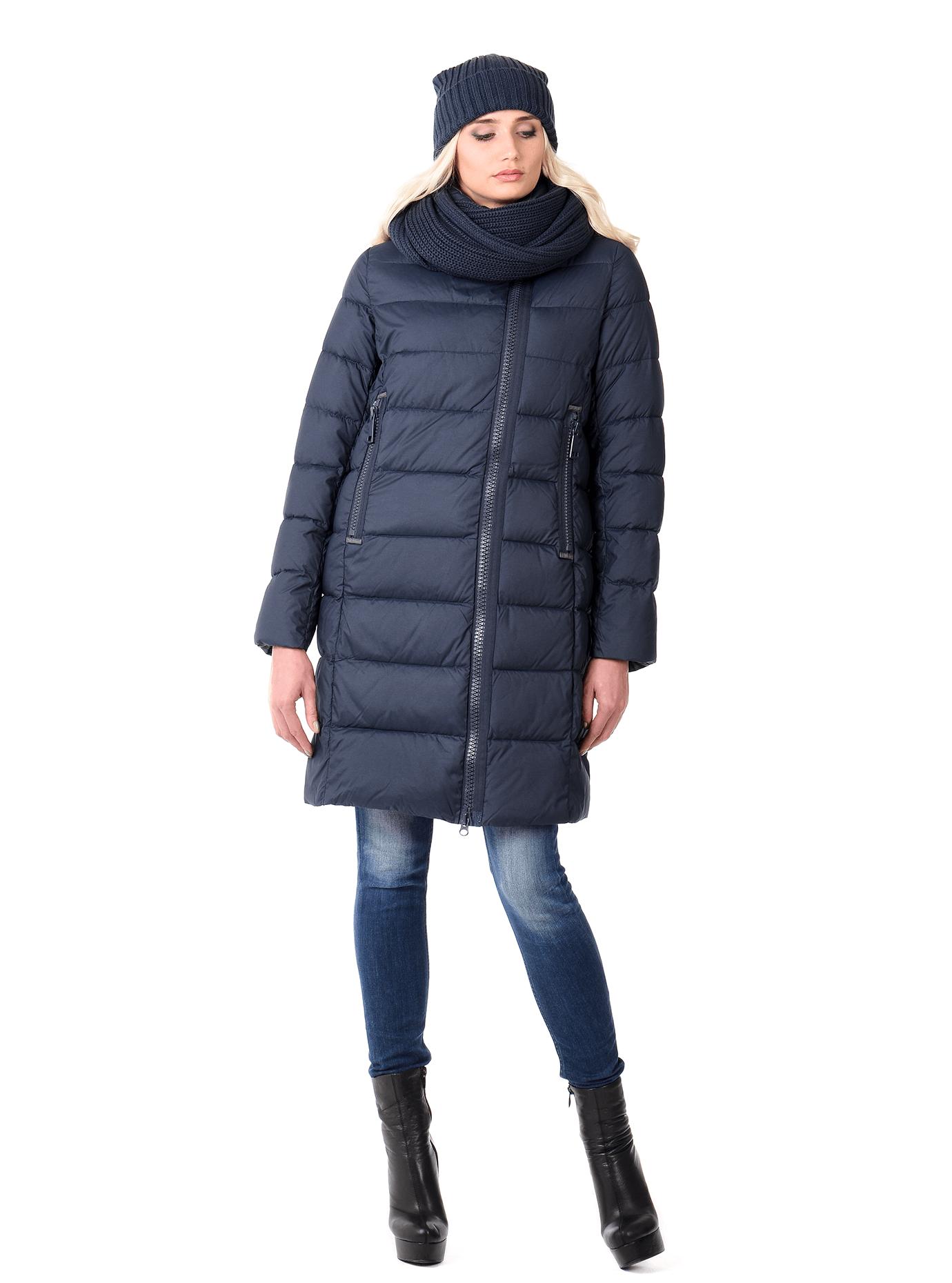 Куртка зимняя женская на молнии Чёрный S (02-CR170391): фото - Alster.ua
