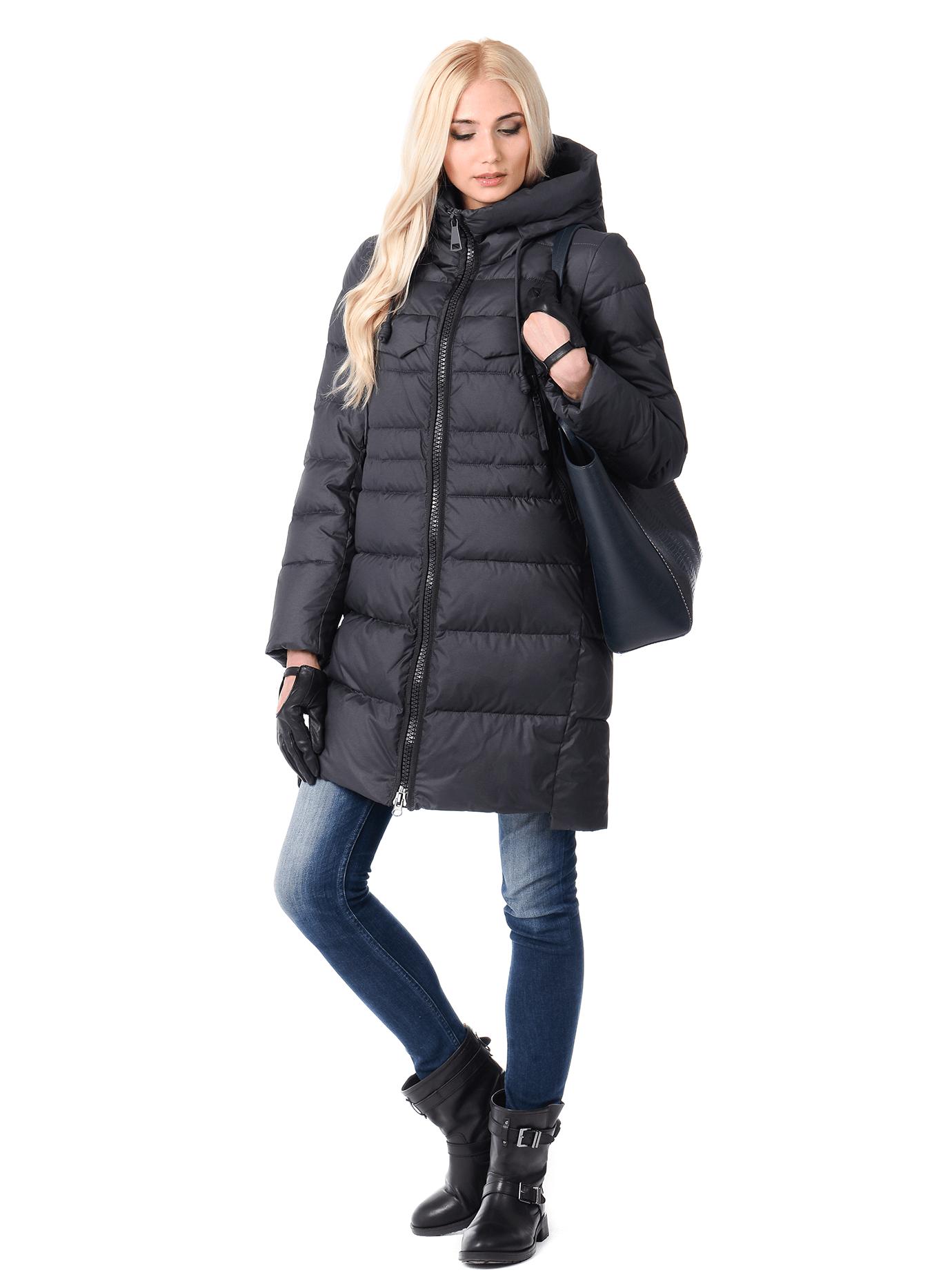 Куртка женская на зиму Красный 2XL (02-CR170381): фото - Alster.ua