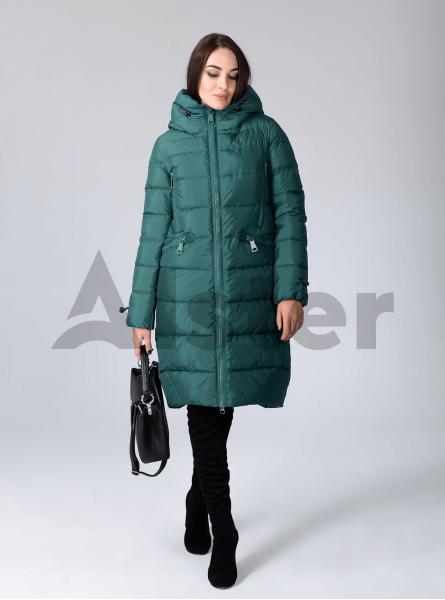 Куртка зимова жіноча вільний фасон
