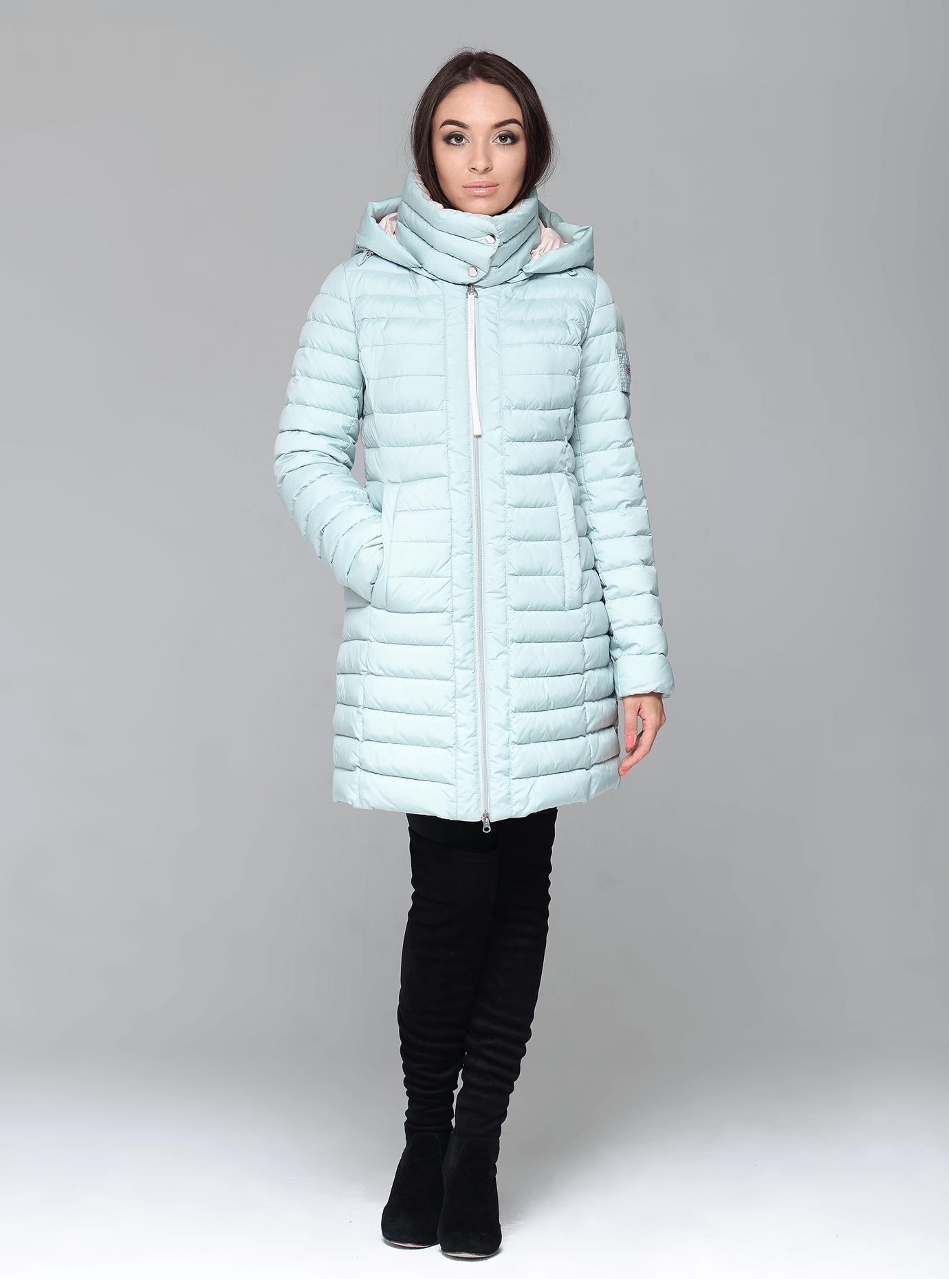 Куртка зимняя женская стёганная Мятный S (02-CR170130): фото - Alster.ua