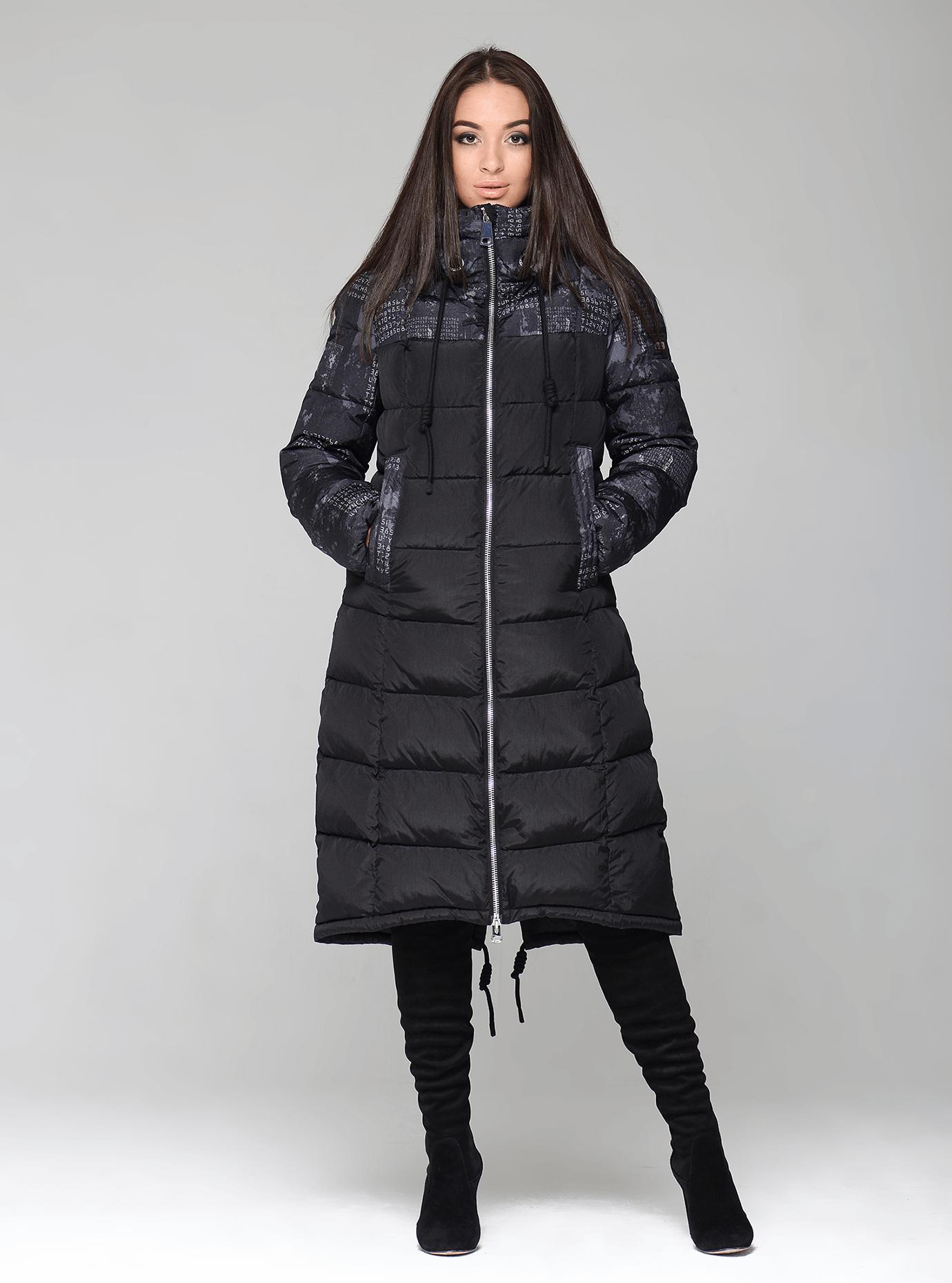 Куртка зимняя женская оригинальная Чёрный S (02-CR170270): фото - Alster.ua