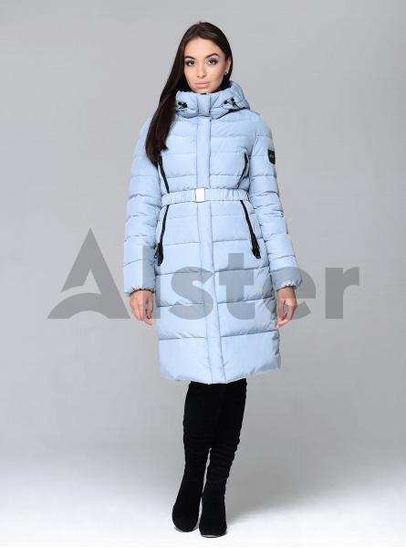 Куртка зимняя женская с поясом