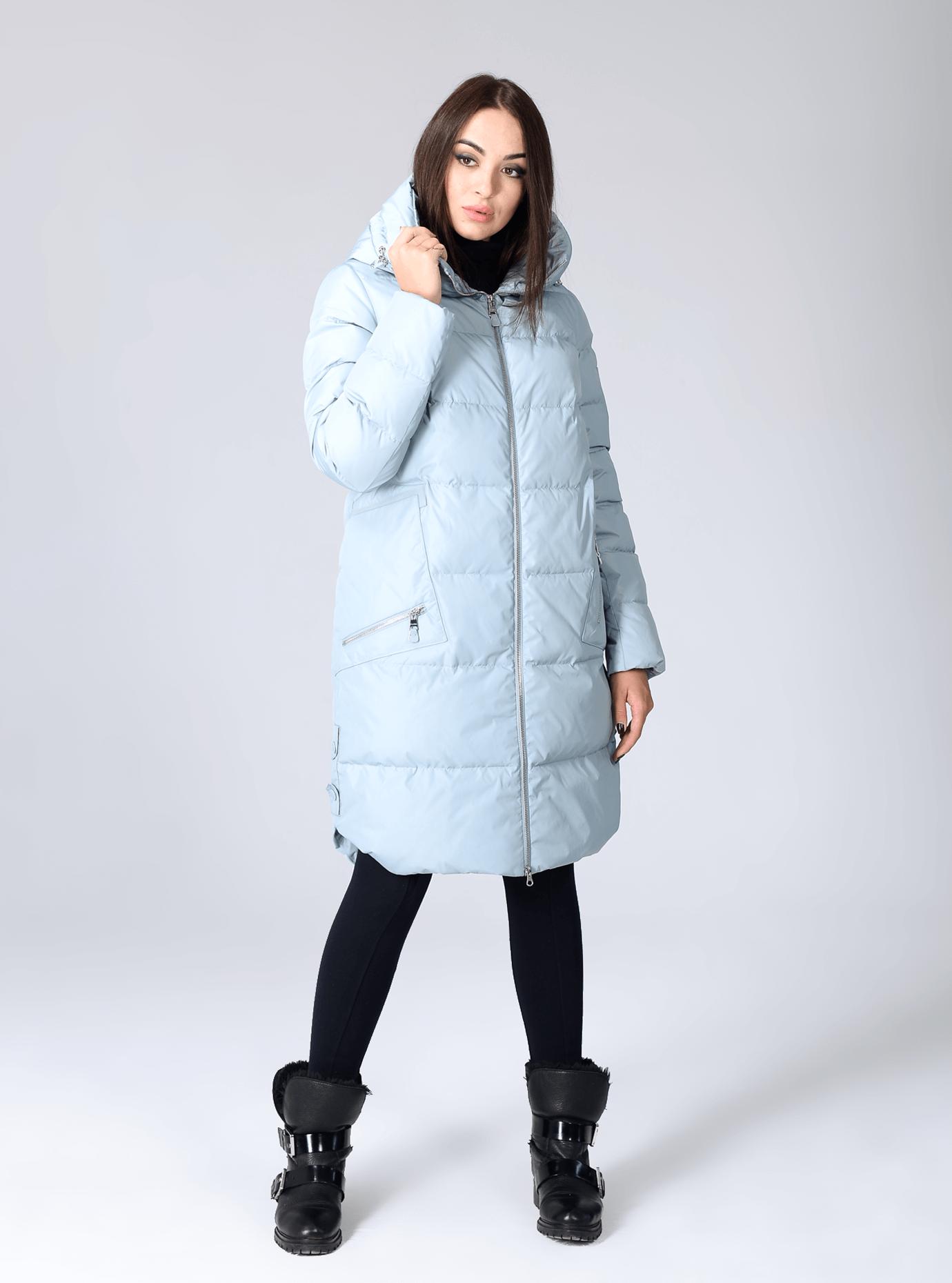 Куртка зимняя женская свободный фасон Чёрный S (02-CR170332): фото - Alster.ua
