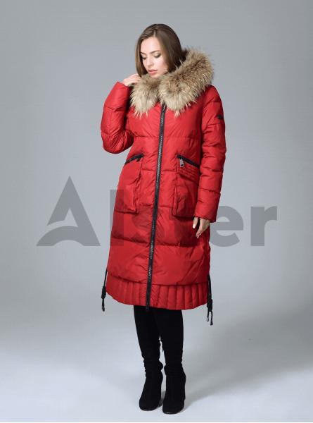 Куртка зимова жіноча з накладними кишенями