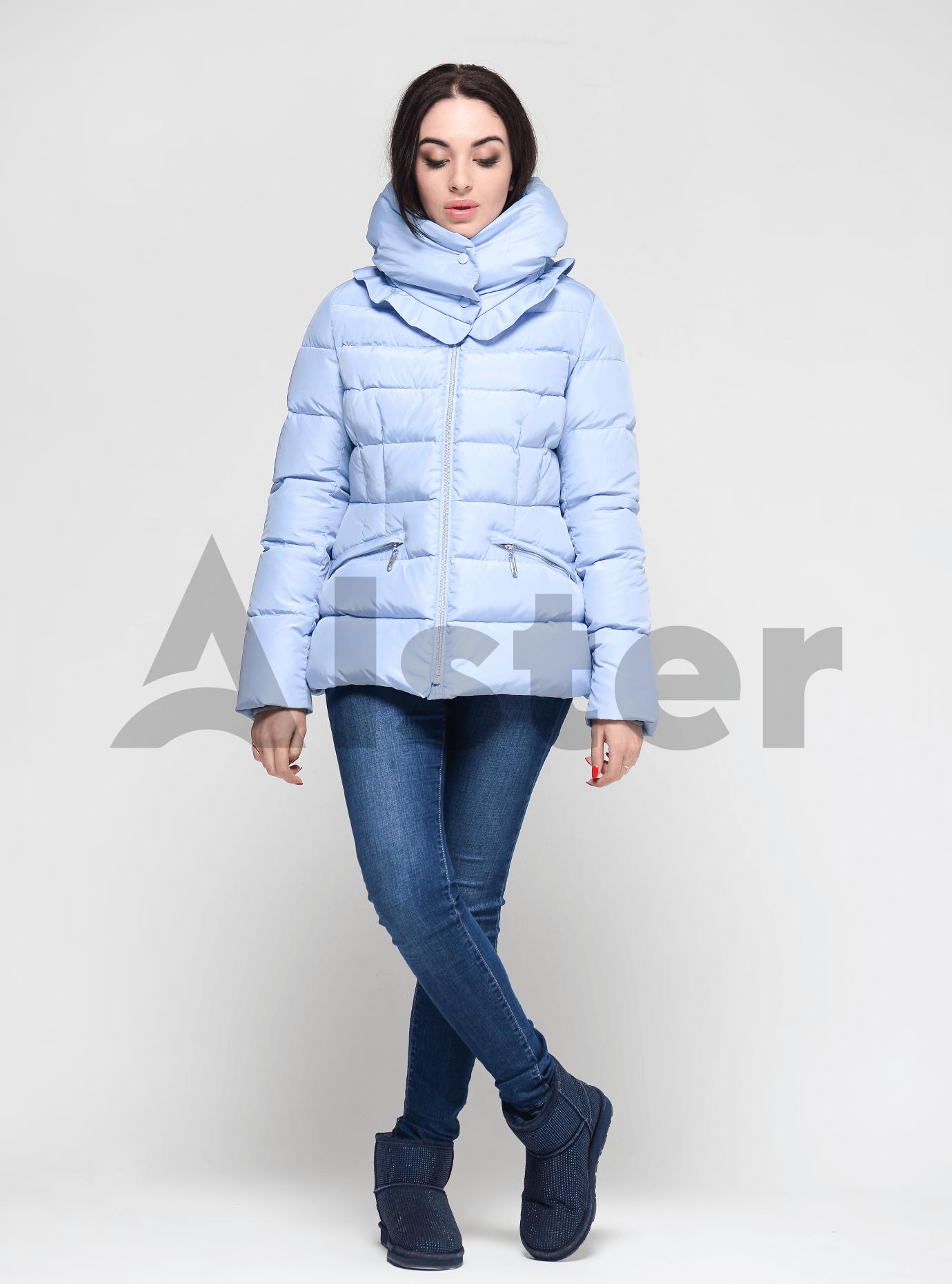 Женская зимняя куртка Светло-голубой S (02-190293): фото - Alster.ua