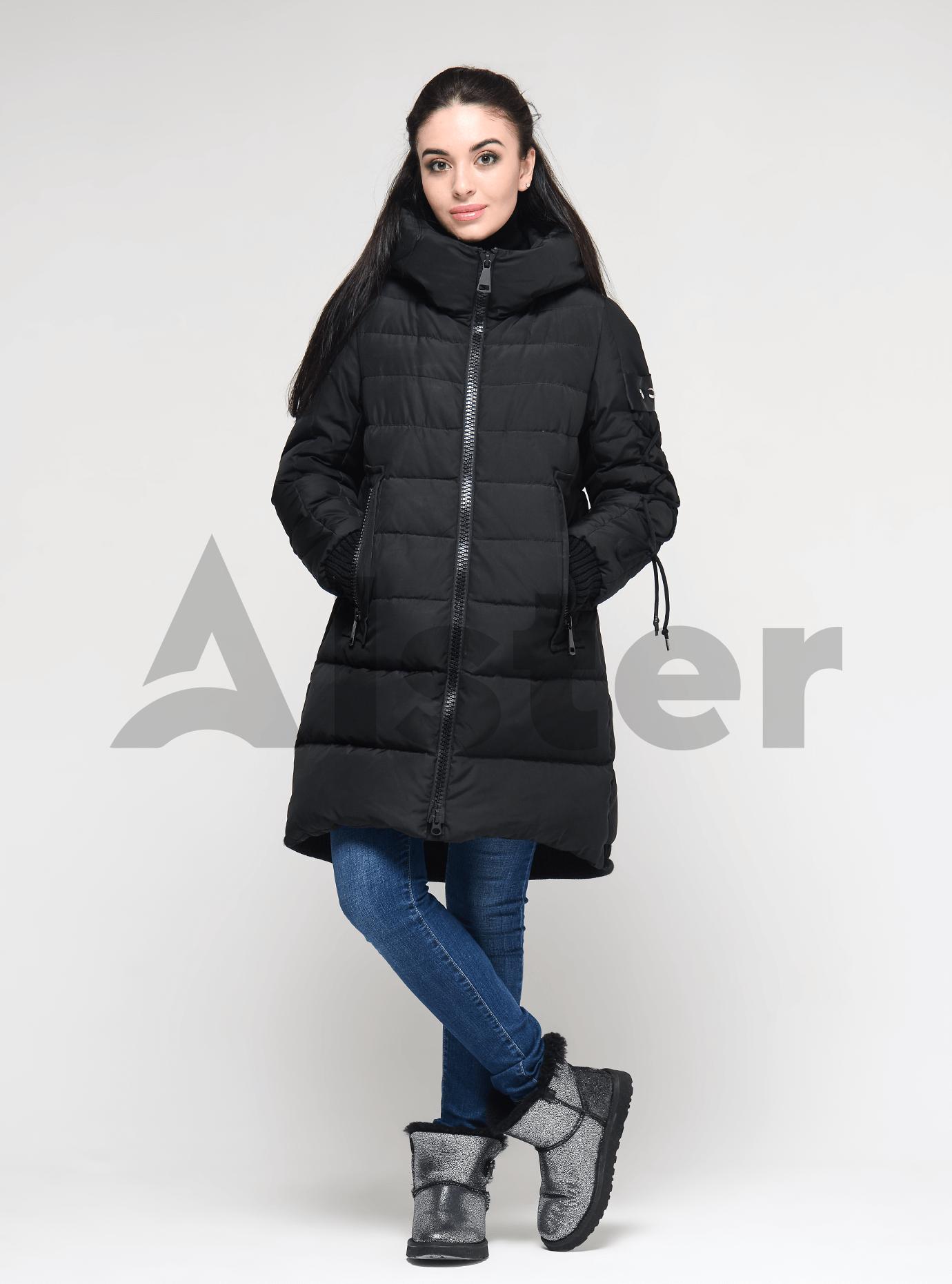 Жіноча зимова куртка Чорний S (02-190236): фото - Alster.ua