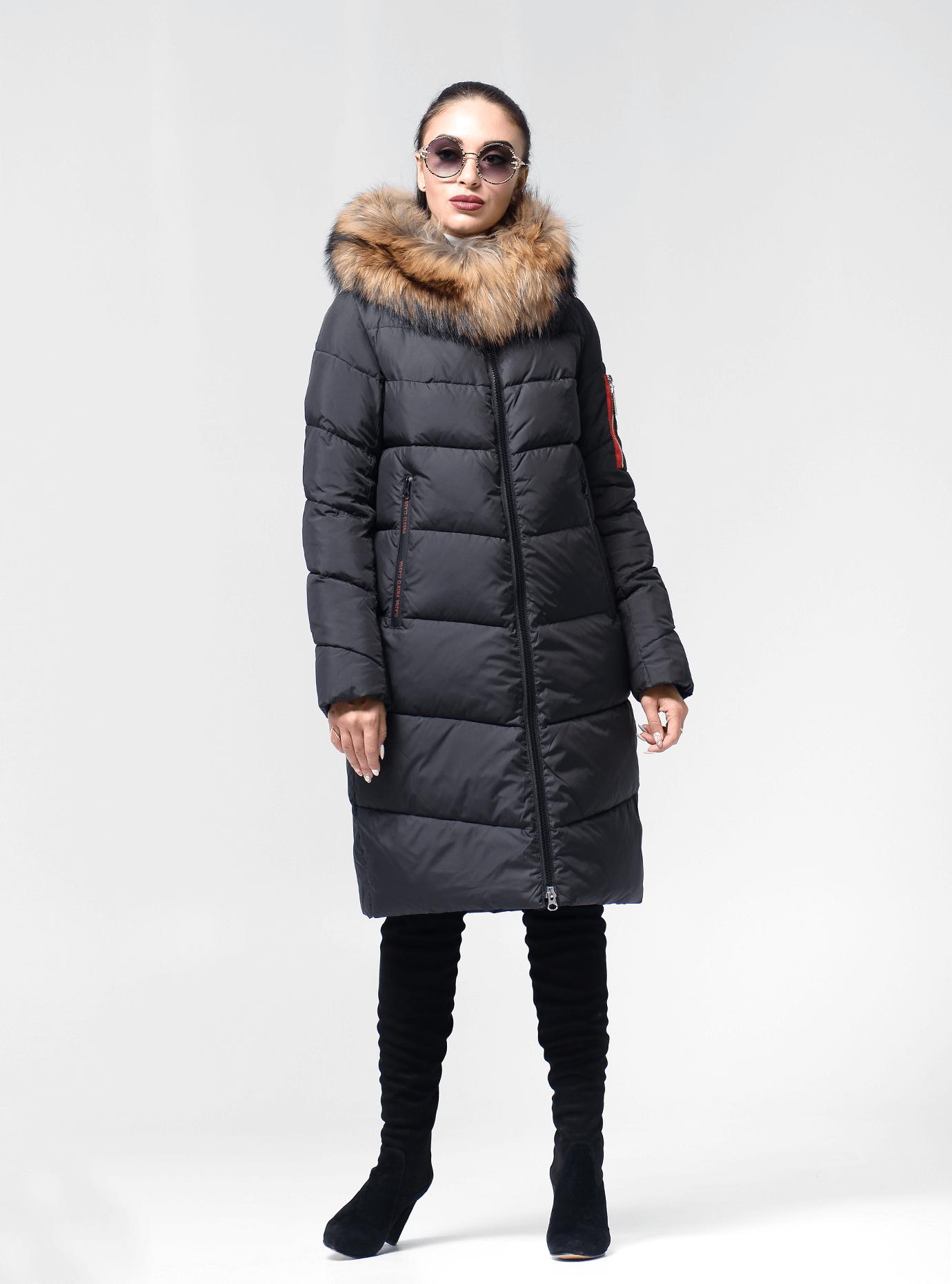 Женская зимняя куртка Чёрный S (02-190310): фото - Alster.ua