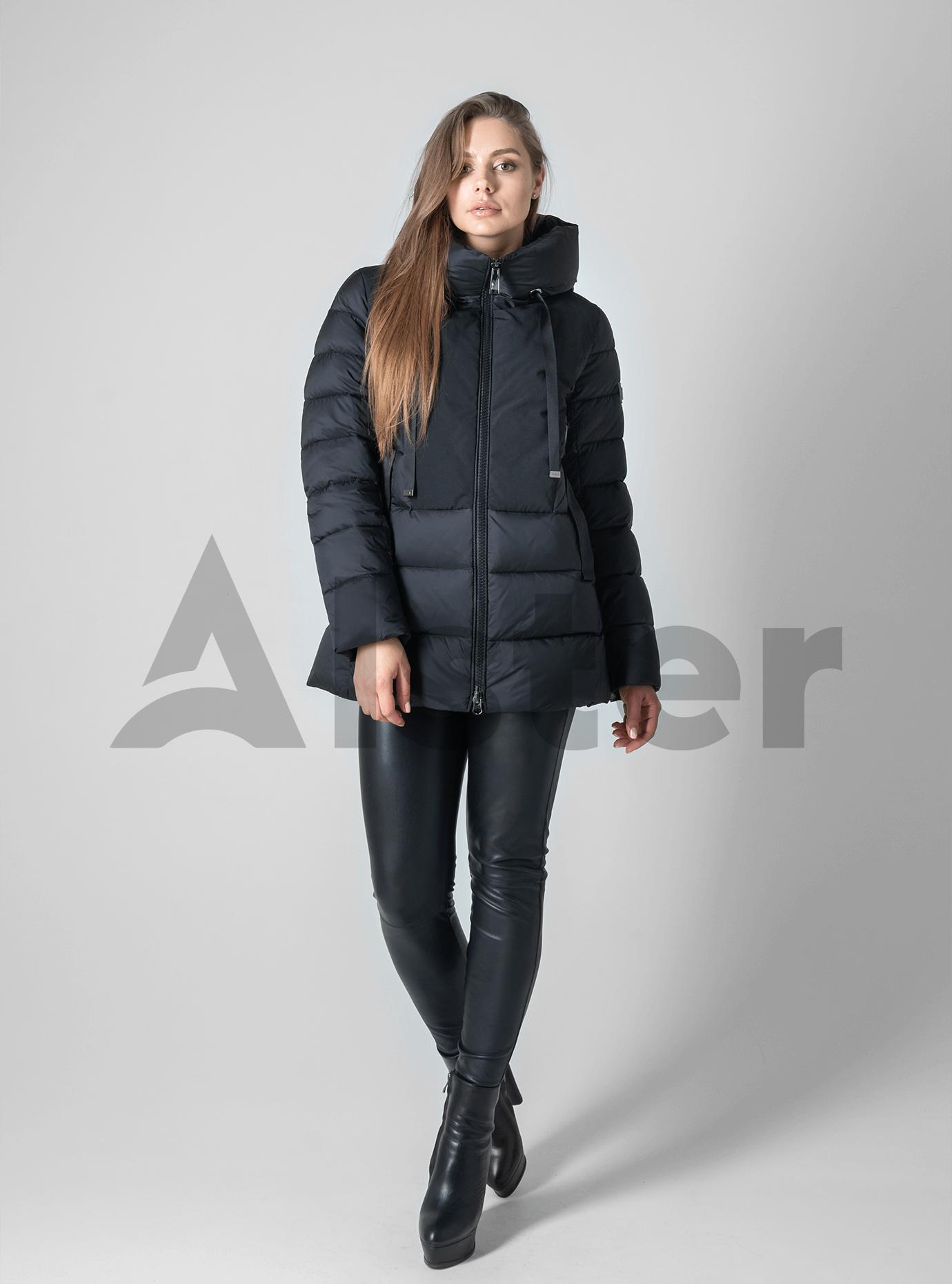 Зимняя женская куртка Чёрный 2XL (02-190183): фото - Alster.ua