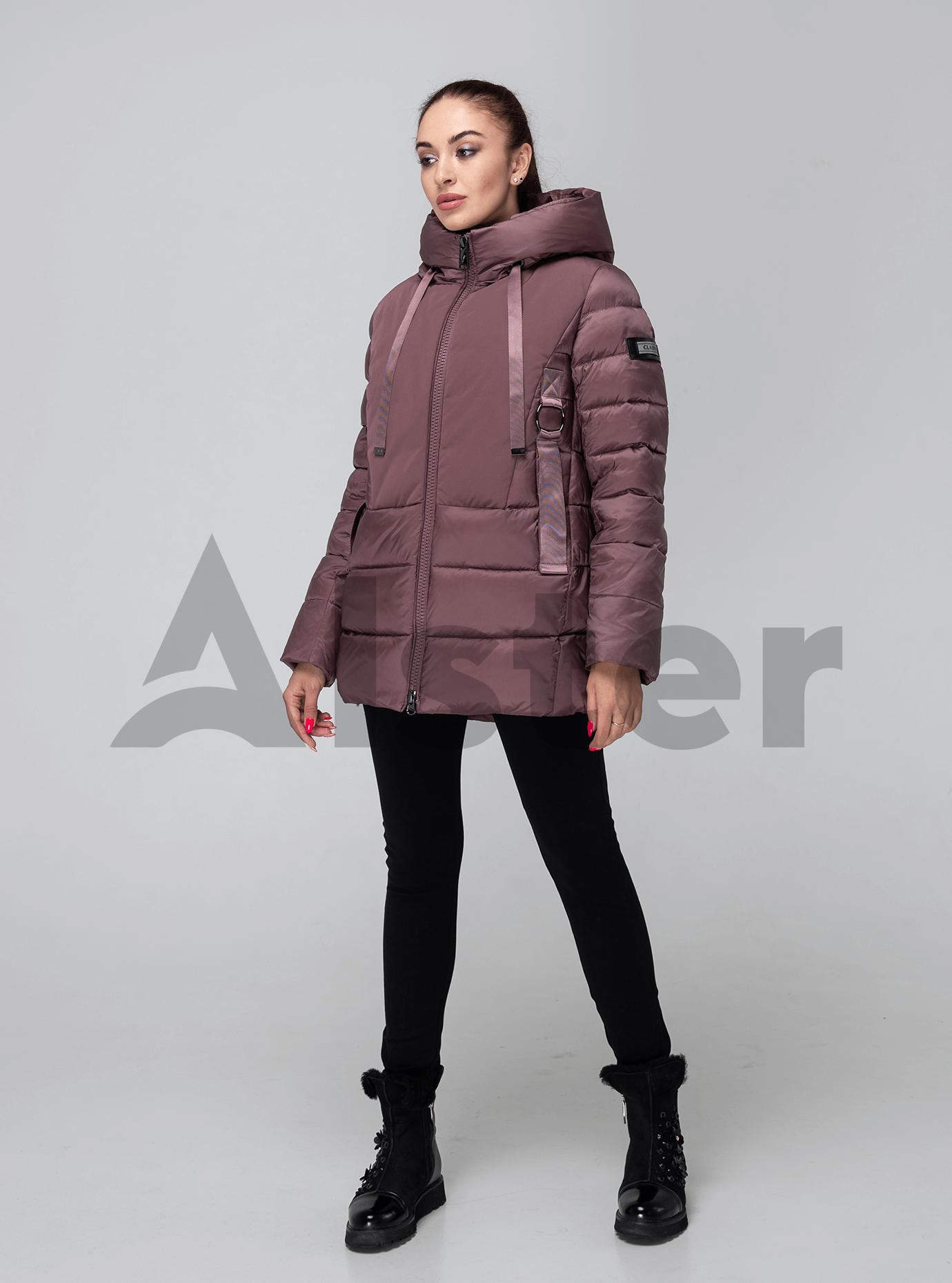 Зимняя женская куртка Какао 2XL (02-190181): фото - Alster.ua