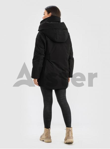 Зимова жіноча куртка з накладною кишенею CLASNA
