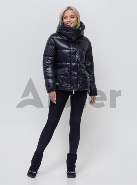 Куртка зимняя женская со съемным капюшоном