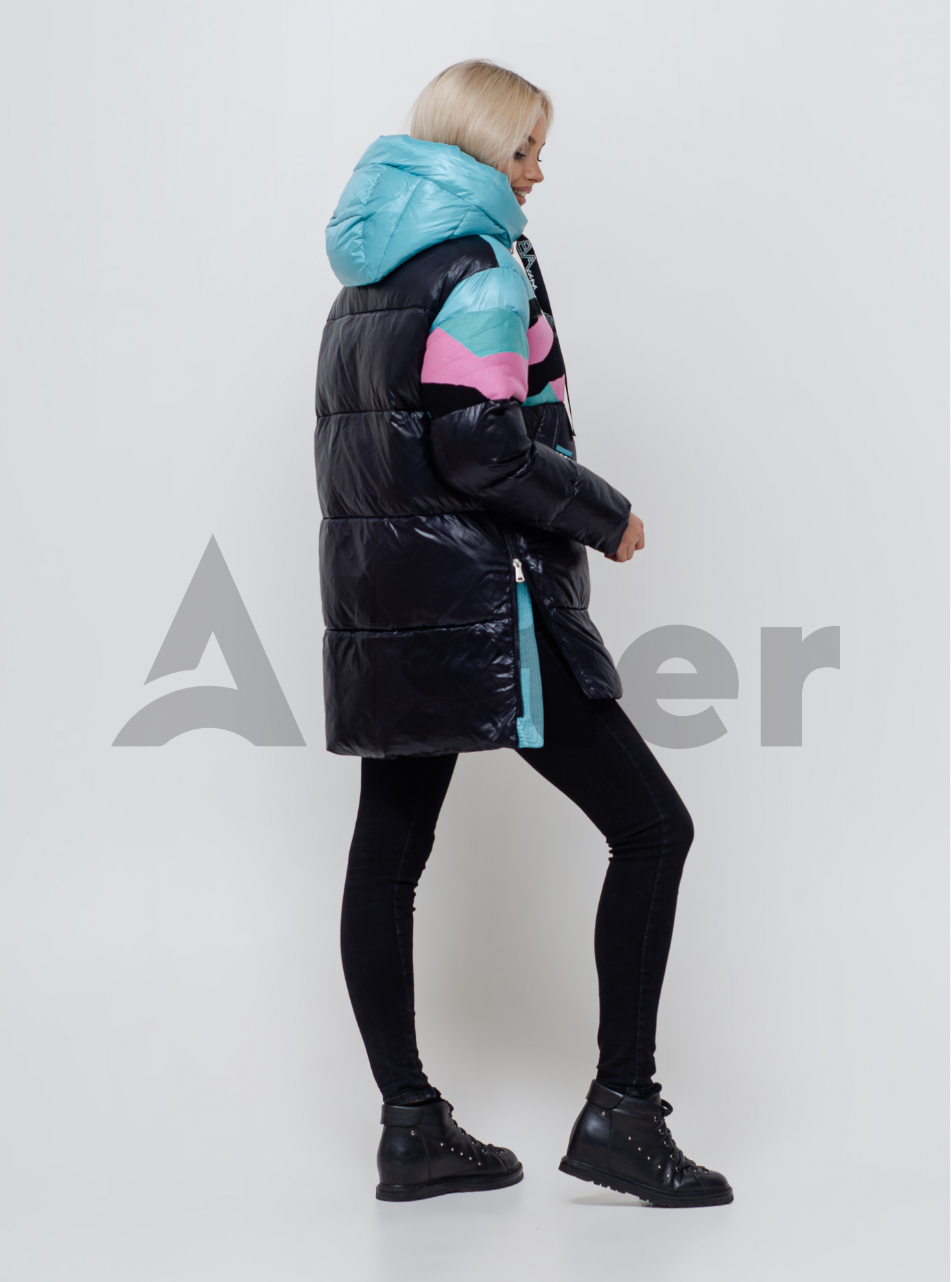 Зимняя женская куртка Чёрный 40 (06-KL201011): фото - Alster.ua