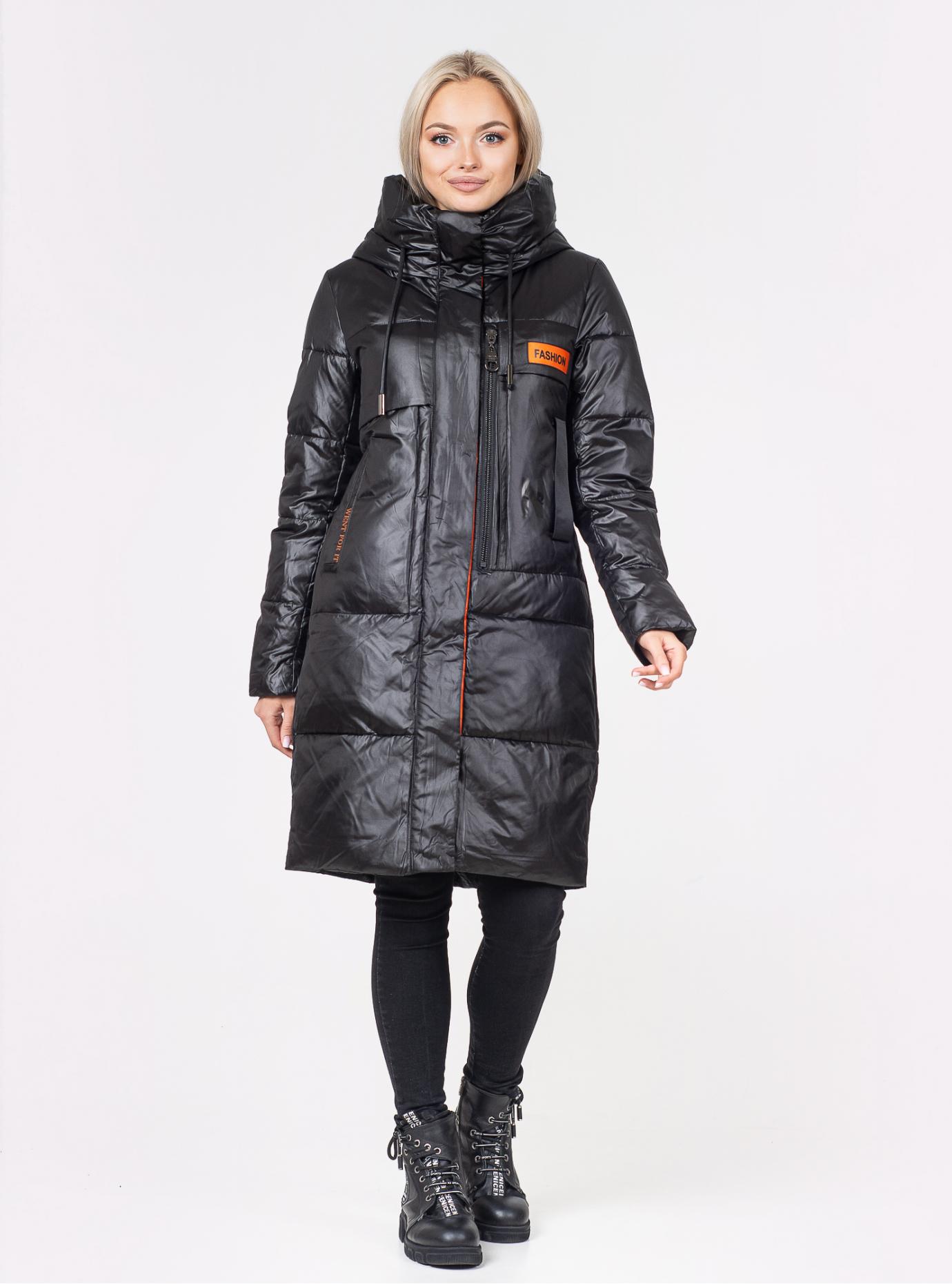 Куртка зимняя женская Чёрный S (07-VP201137): фото - Alster.ua