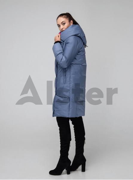 Женская куртка зимняя капюшон-хомут