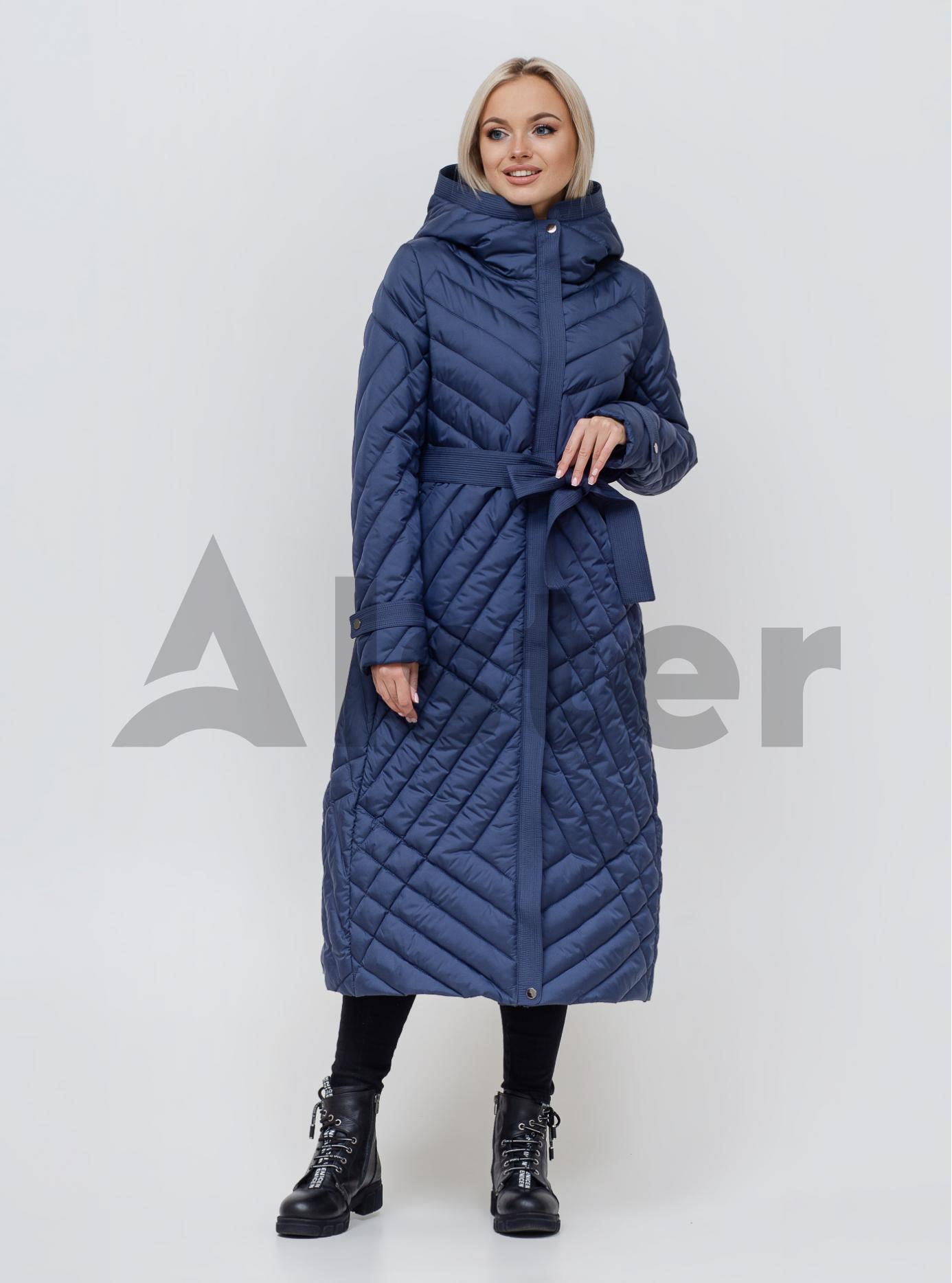 Пальто жіноче зимове Джинс 46 (02-KL201001): фото - Alster.ua