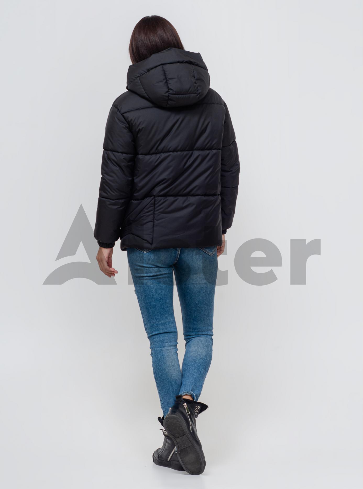 Женская зимняя куртка Чёрный 42 (02-KL201071): фото - Alster.ua