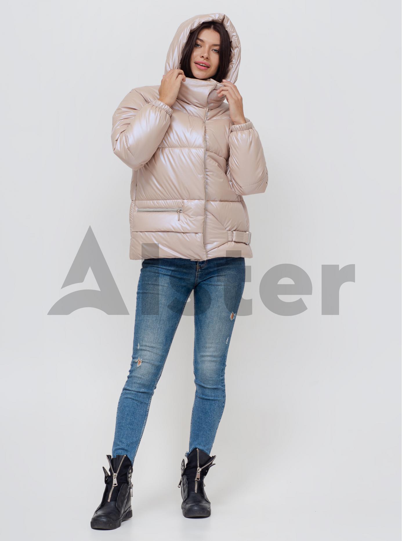 Женская зимняя куртка Молочный 40 (02-KL201040): фото - Alster.ua