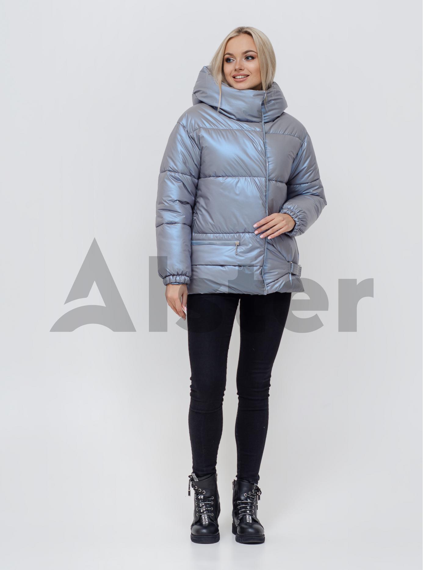 Жіноча зимова куртка Темно-блакитний 40 (02-KL201090): фото - Alster.ua
