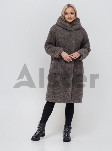 Шубка-пальто двостороння зимова