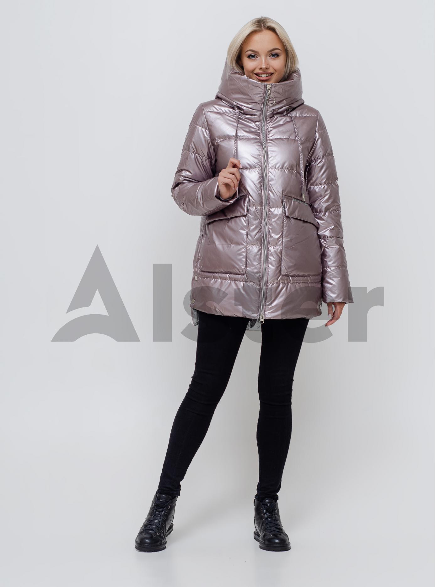 Куртка зимняя женская Светло розовый S (06-KL201090): фото - Alster.ua