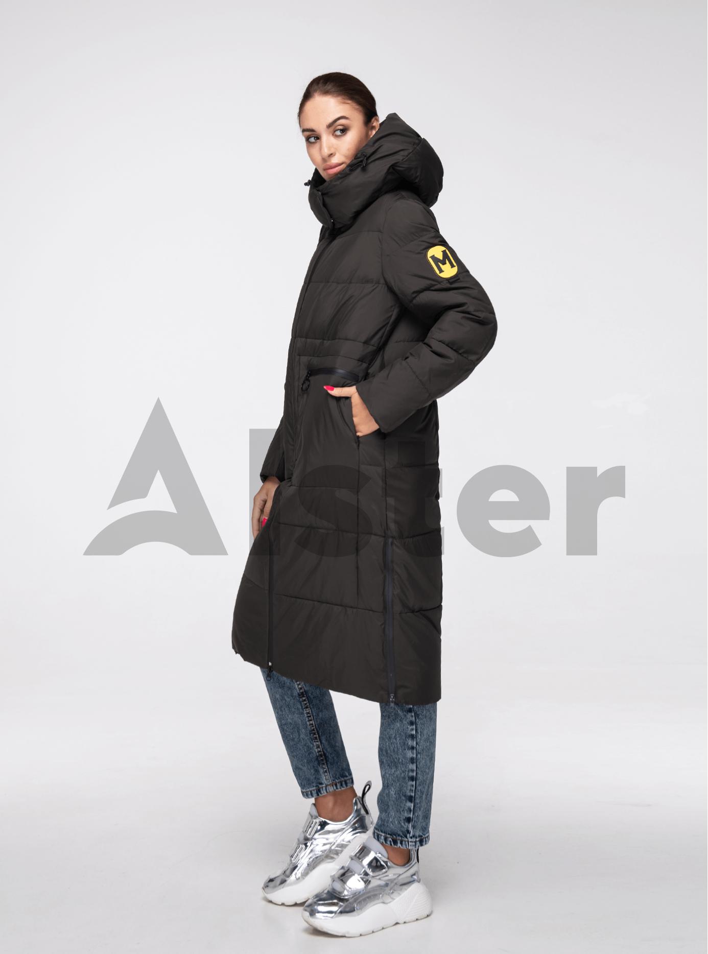 Куртка жіноча зимова довга Хакі S (05-T19082): фото - Alster.ua