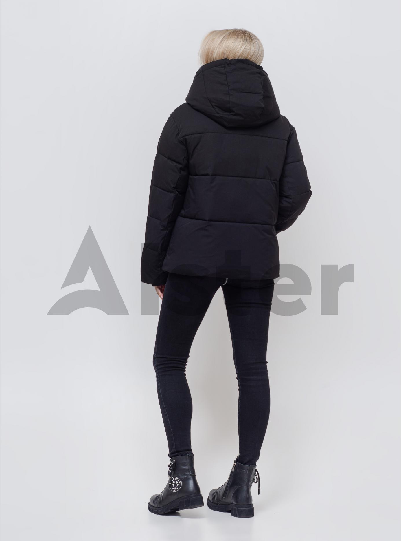 Куртка женская зимняя средней длины Чёрный S (05-SV201038): фото - Alster.ua