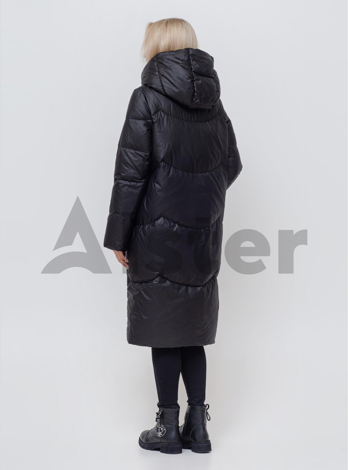 Пуховик жіночий натуральний Чорний S (05-SV201015): фото - Alster.ua