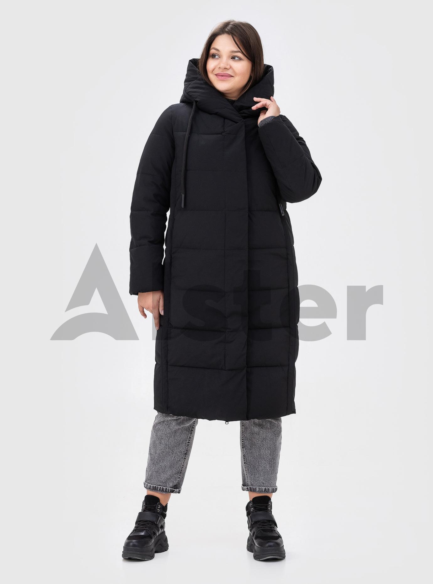Жіноча зимова куртка TOWMY (size+) Чорний 56 (TWM2201-11): фото - Alster.ua