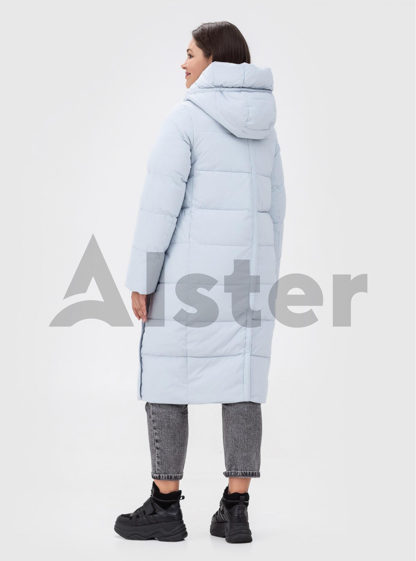 Жіноча зимова куртка TOWMY (size+) Срібний 52 (TWM2201-03): фото - Alster.ua