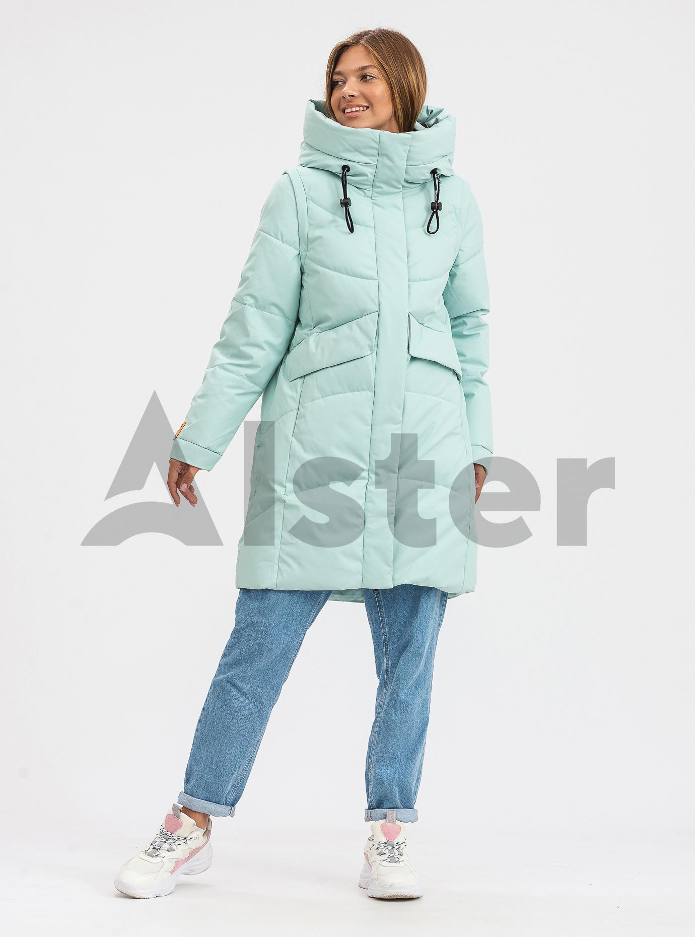Жіноча зимова куртка трансформер TOWMY М'ята L (TWM3223-08): фото - Alster.ua