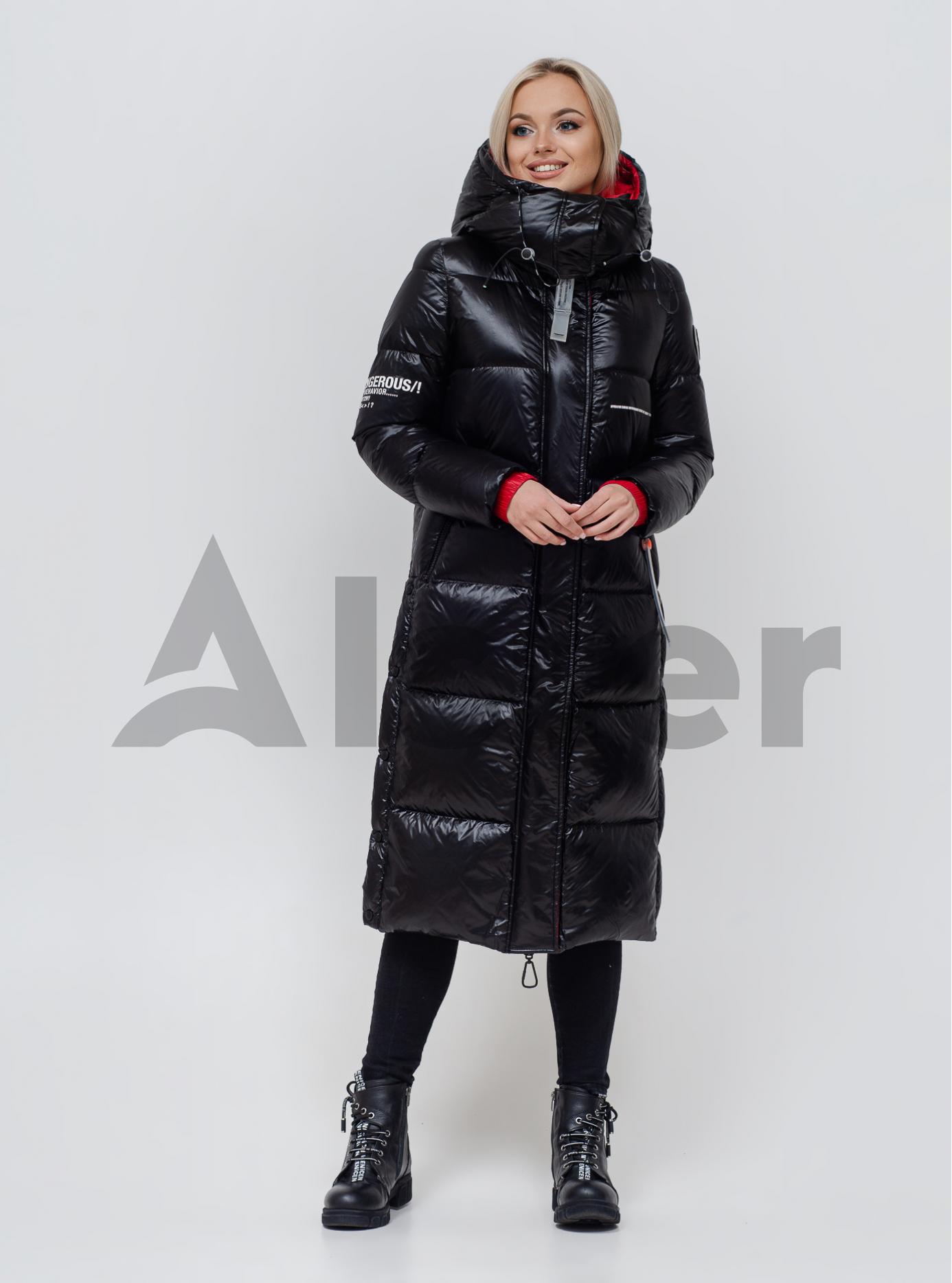 Пуховик жіночий Чорний L (05-SV201206): фото - Alster.ua