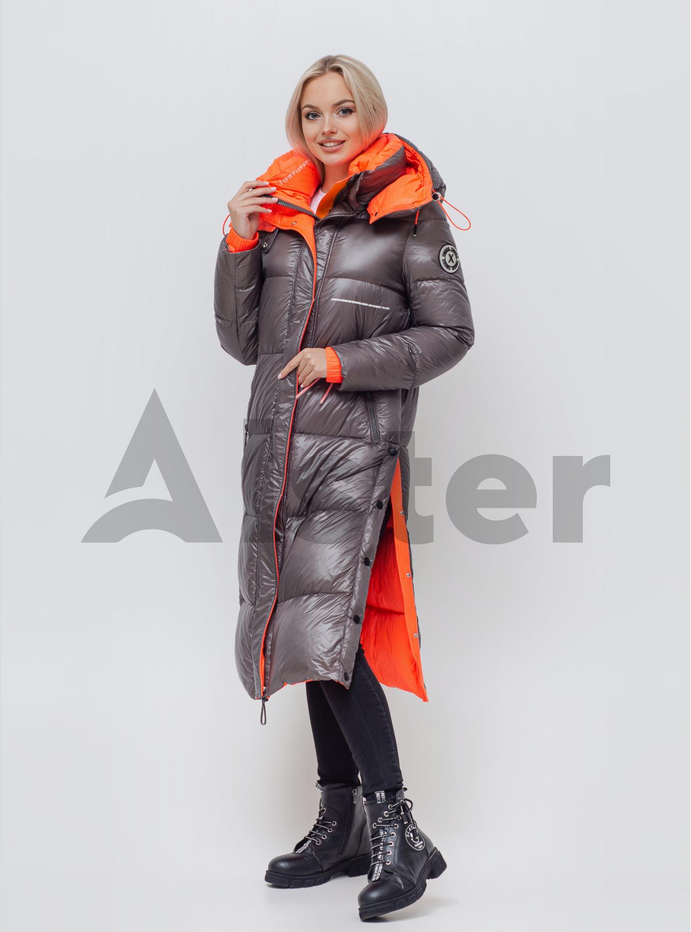 Пуховик жіночий Капучіно S (05-SV201198): фото - Alster.ua