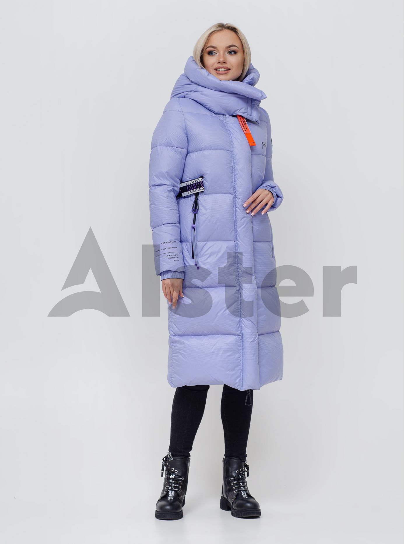 Пуховик женский со съемным капюшоном Лаванда S (06-KL201151): фото - Alster.ua