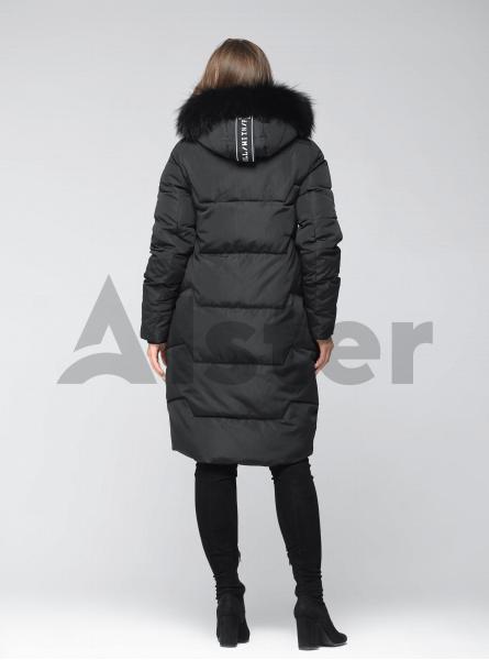 Куртка зимова з хутряним коміром