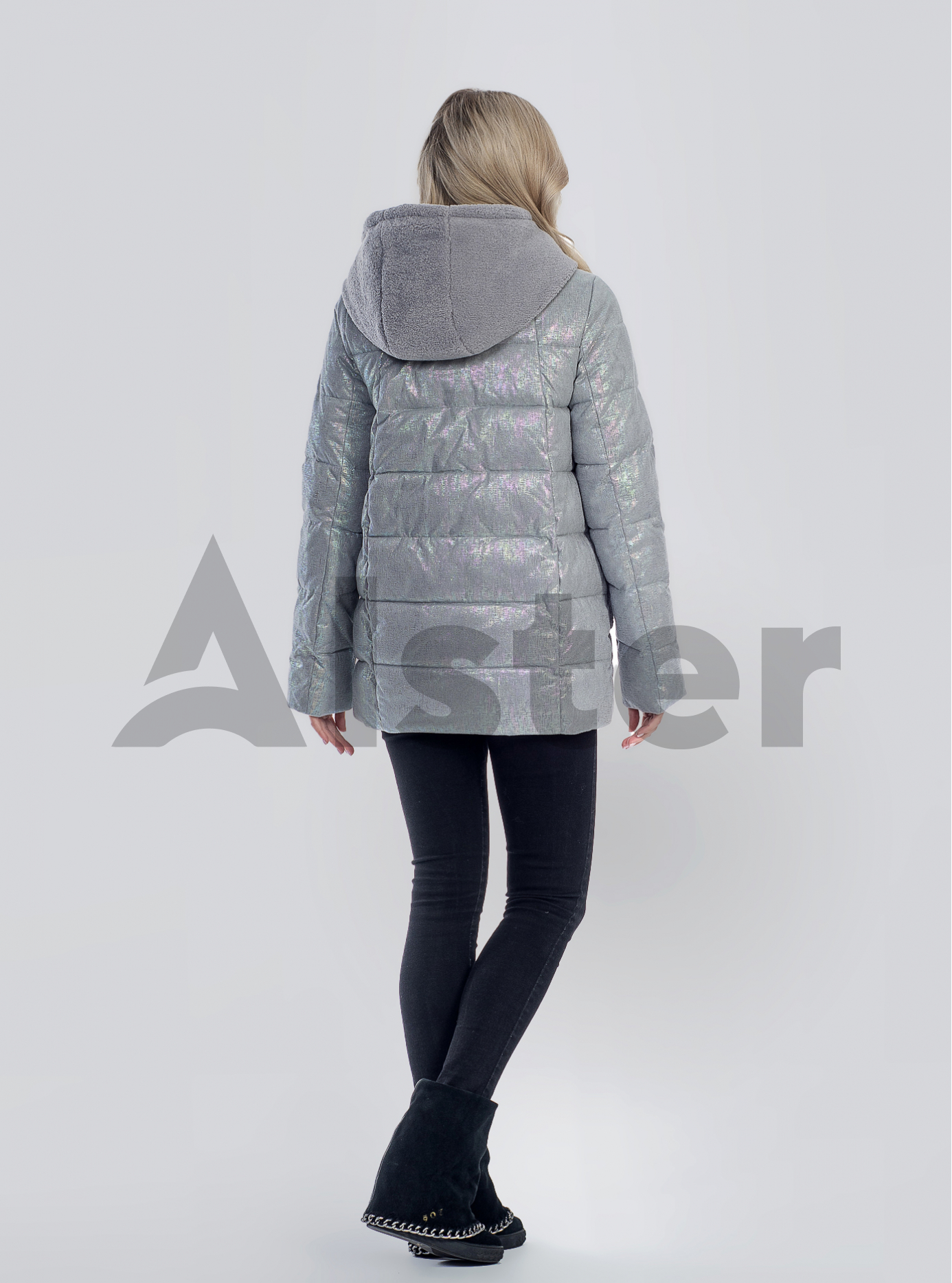 Зимова жіноча куртка Сірий M (05-SV201253): фото - Alster.ua