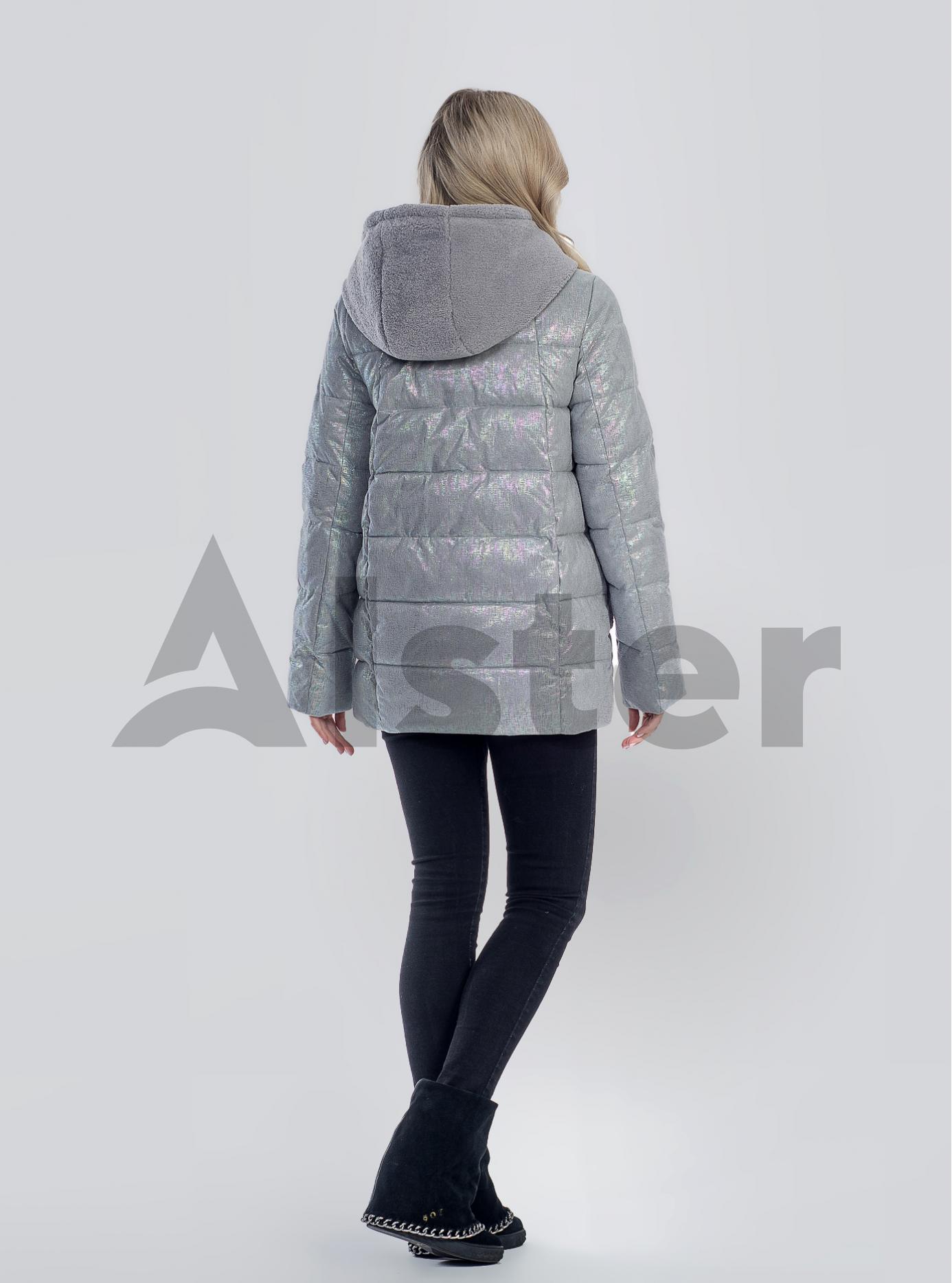 Зимова жіноча куртка Сірий S (05-SV201252): фото - Alster.ua