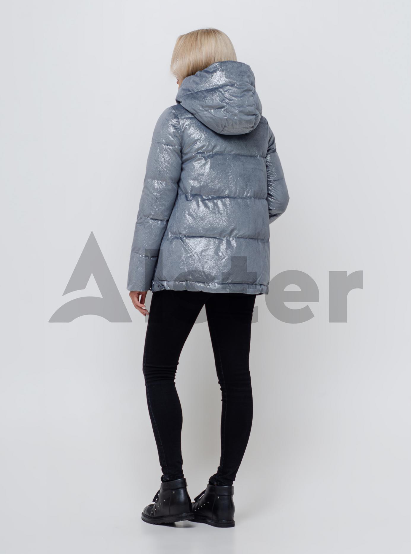 Куртка женская зимняя Серо-голубой S (05-SV201109): фото - Alster.ua