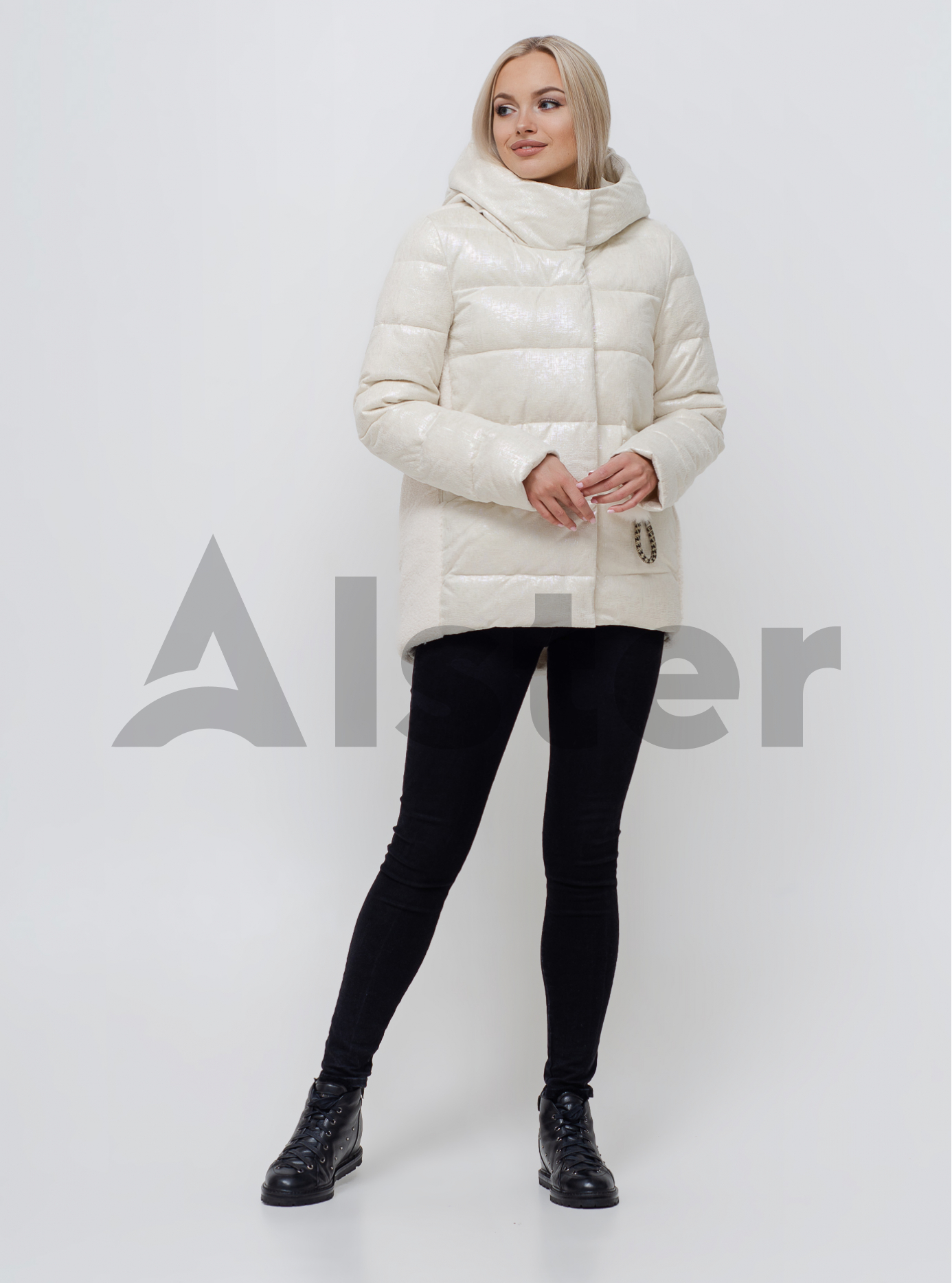 Куртка жіноча зимова Бежевий S (05-SV201069): фото - Alster.ua