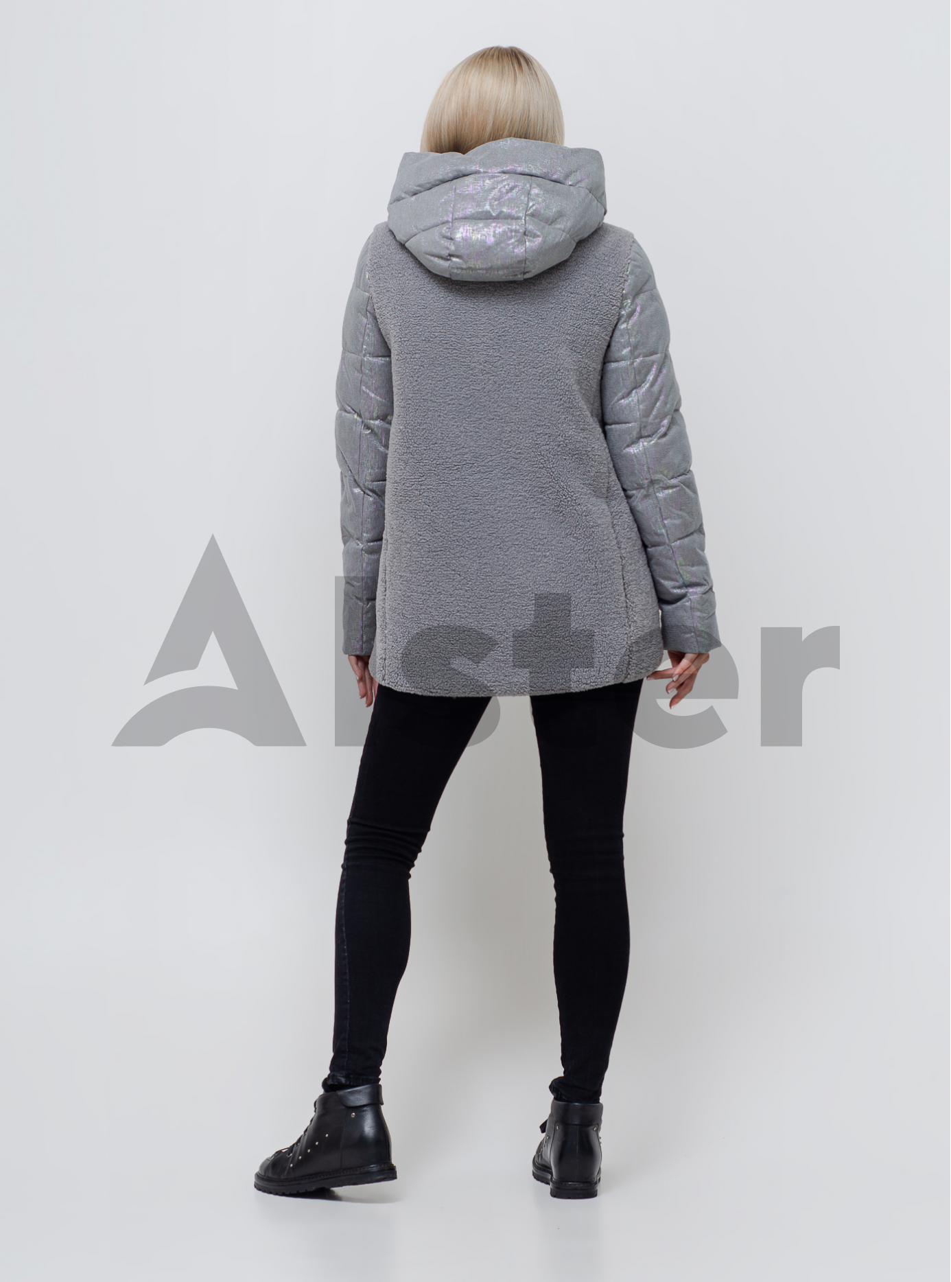 Куртка жіноча зимова Сірий S (05-SV201059): фото - Alster.ua
