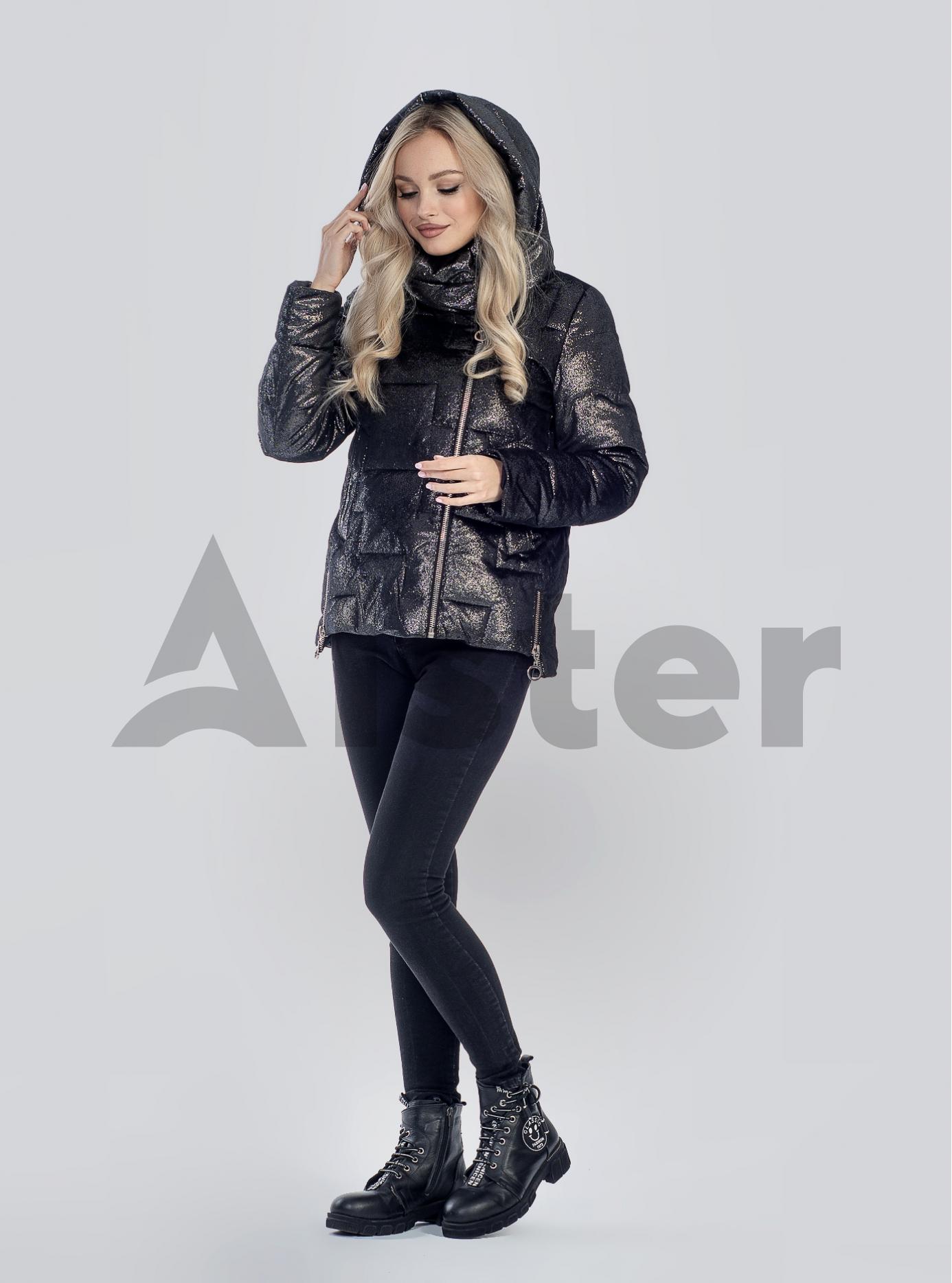 Зимова жіноча куртка Чорний 2XL (05-SV201246): фото - Alster.ua