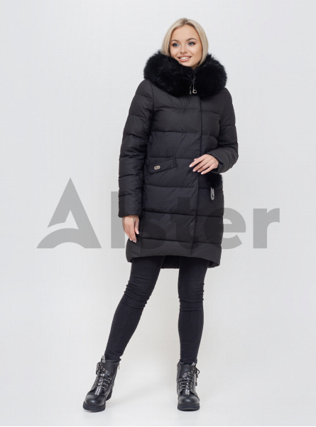 Зимова жіноча куртка з хутром