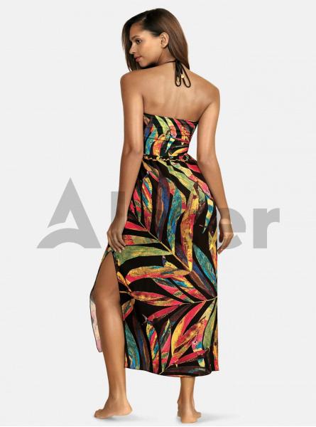 Пляжная туника - платье