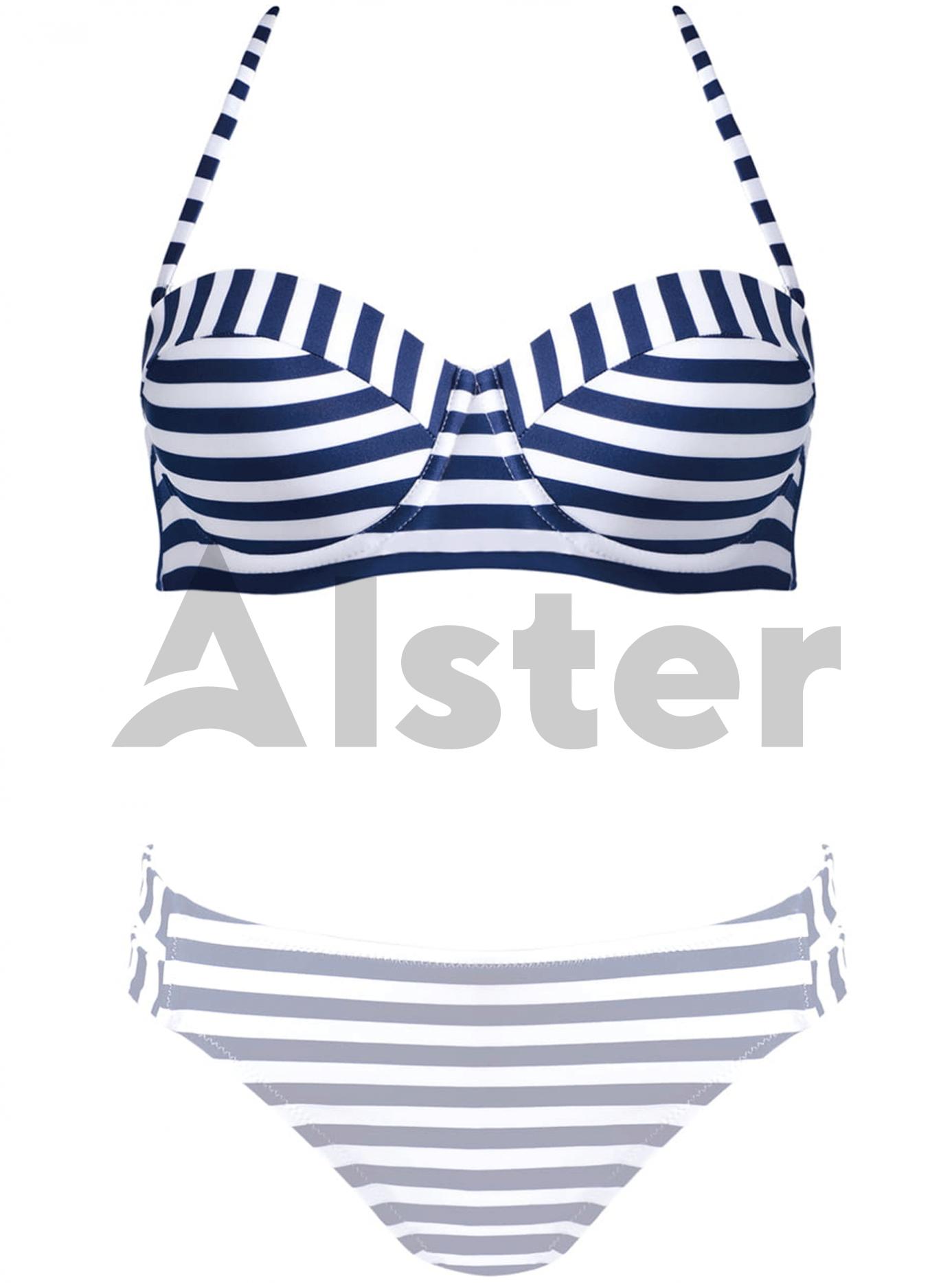 Роздільний купальник FEBA F72C Синій 36C (02-FO21024): фото - Alster.ua