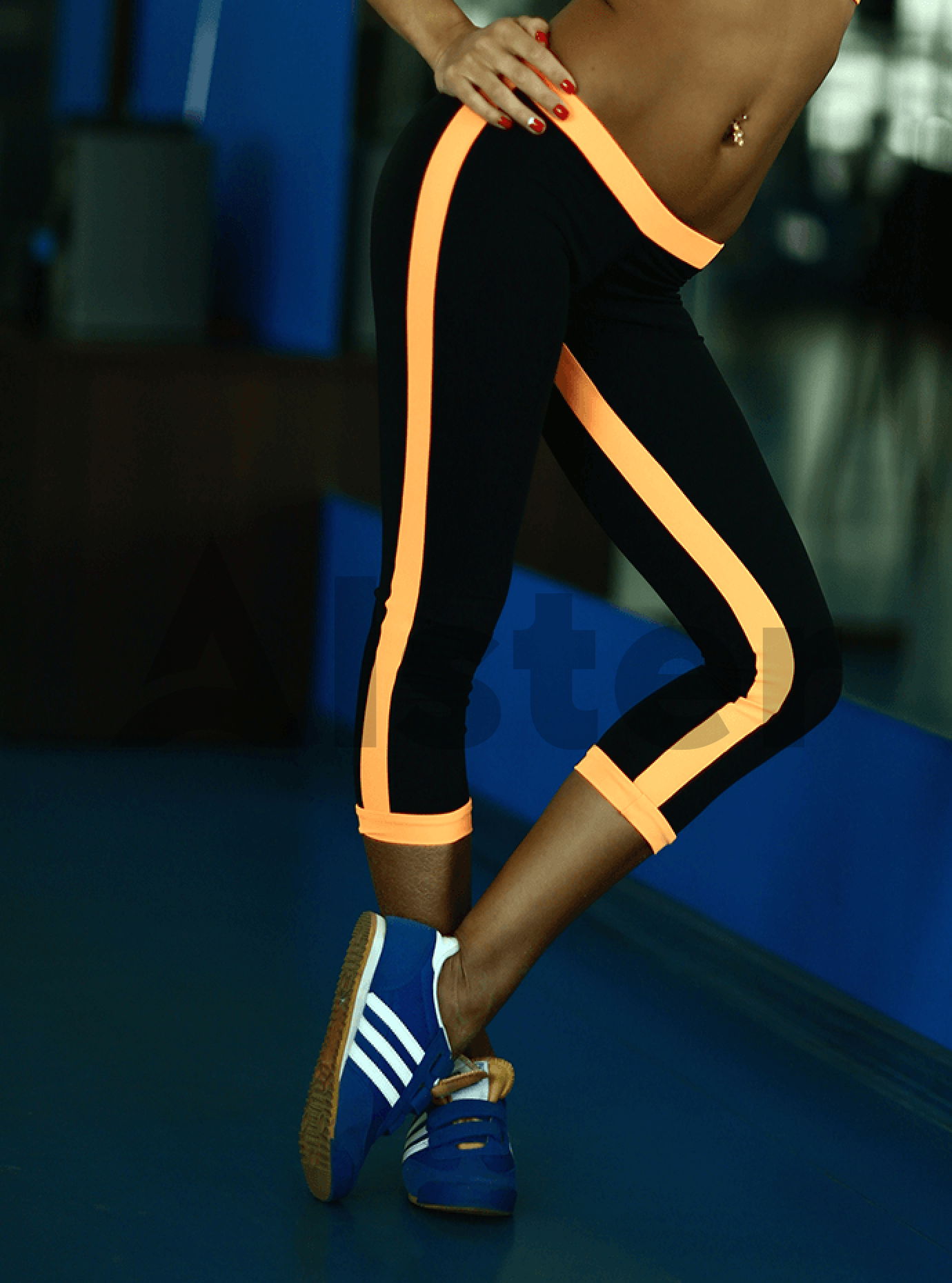 Бриджи женские Low Rise Orange Серый S (01-F171015): фото - Alster.ua