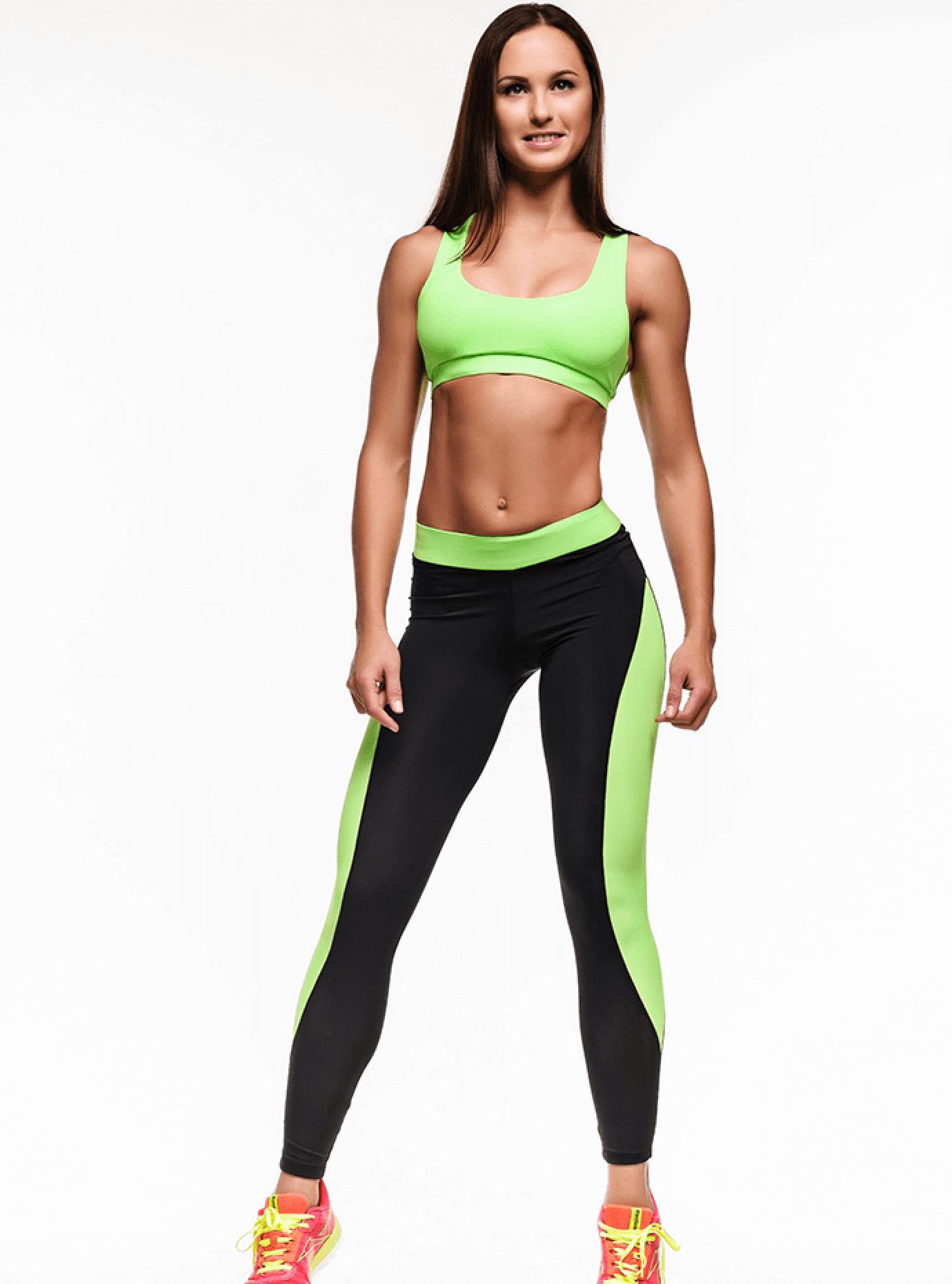 Комплект женский Basic Green Leggings Серый S (01-F171095): фото - Alster.ua