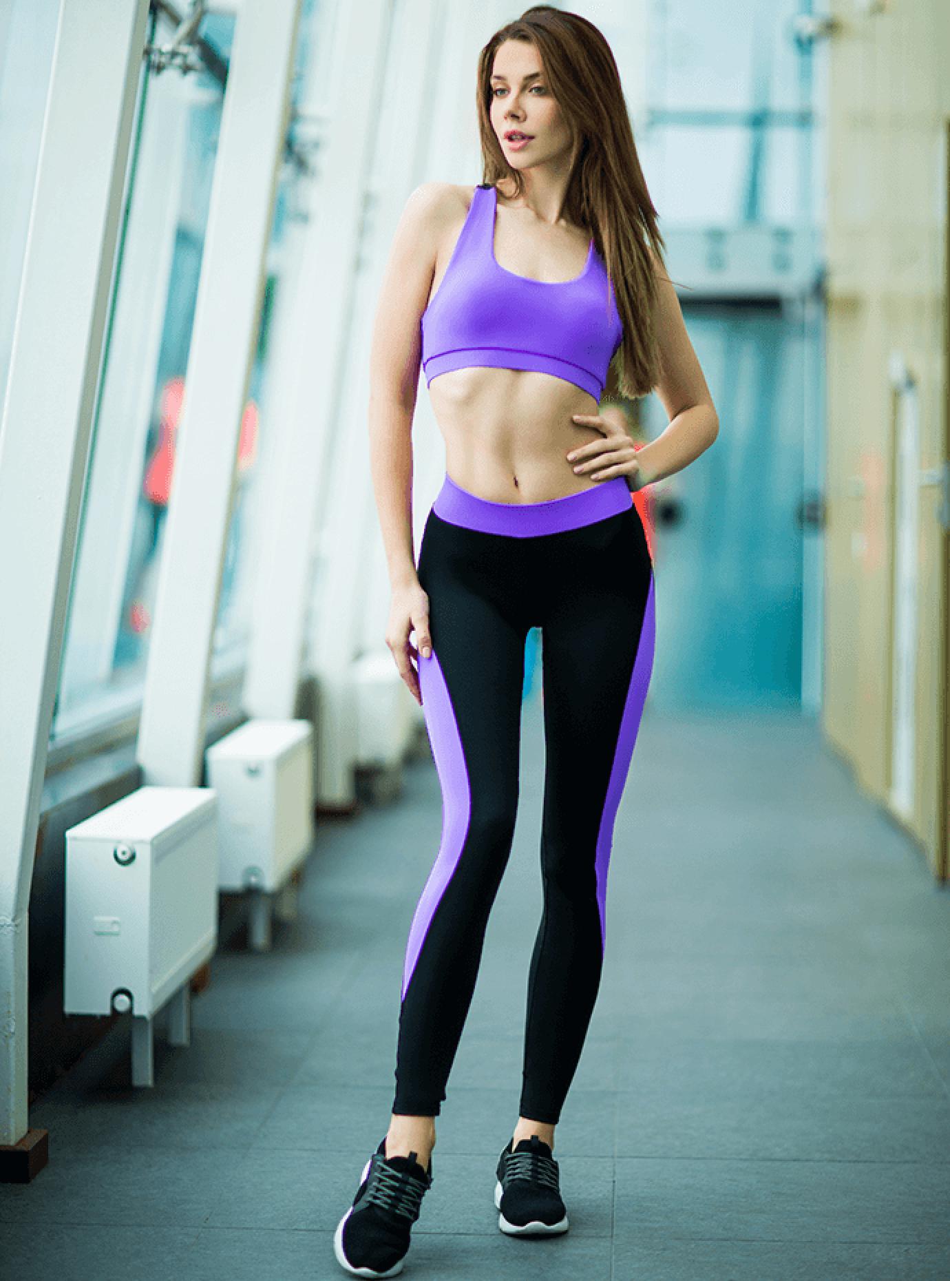 Комплект женский Basic Lavender Серый S (01-F171099): фото - Alster.ua