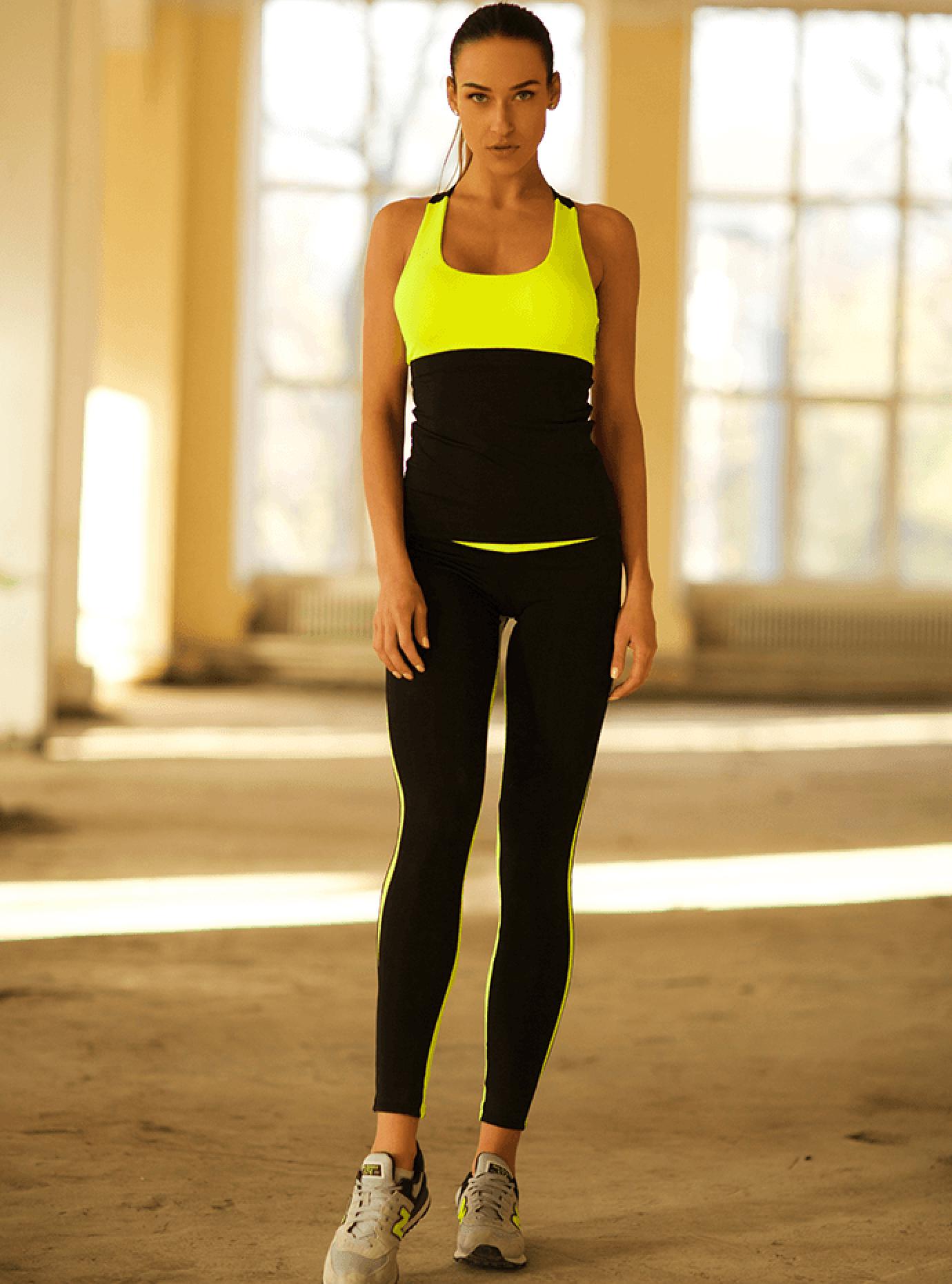 Комплект женский Basic Lemon Low Rise Leggings Серый S (01-F171104): фото - Alster.ua