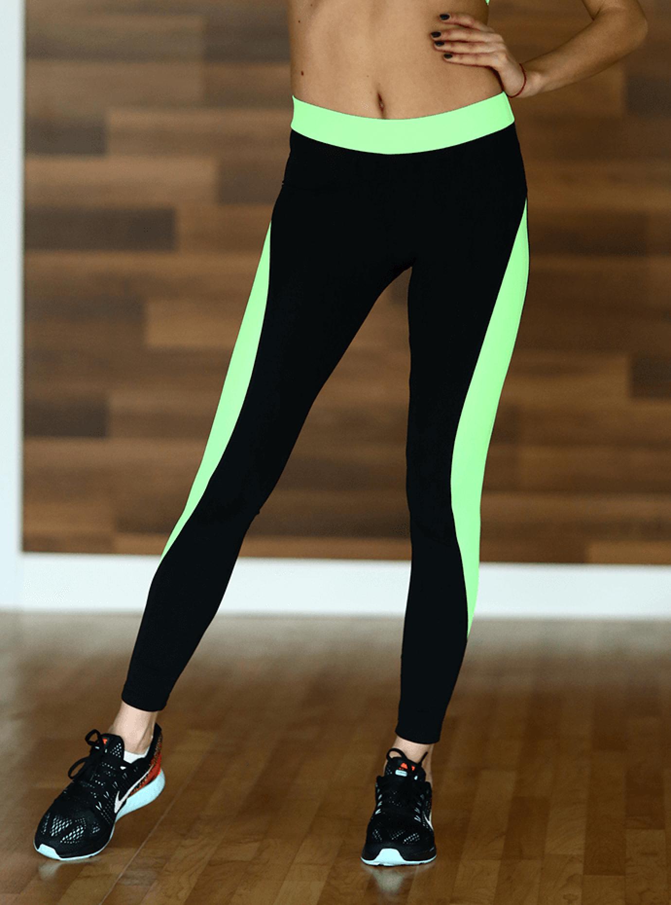 Леггинсы женские Basic Green Серый S (01-F171003): фото - Alster.ua